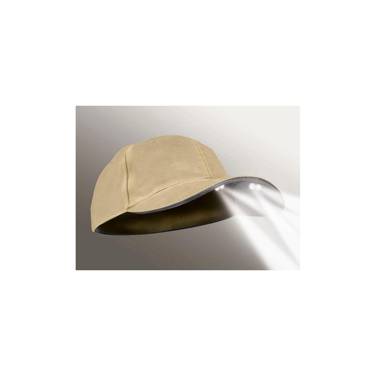 Powercap Stealth 2575 4 Led Khaki Tan Structured