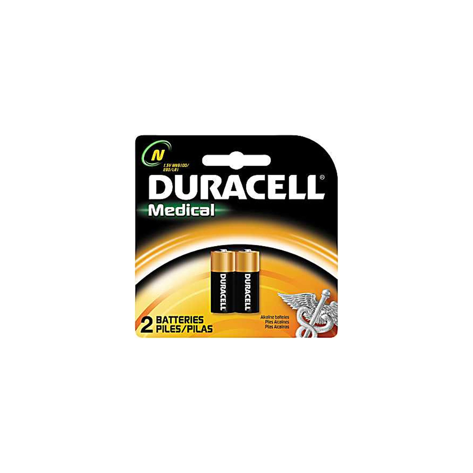 duracell mn9100b2 2pack medical 1 5 volt n size alkaline battery ebay. Black Bedroom Furniture Sets. Home Design Ideas