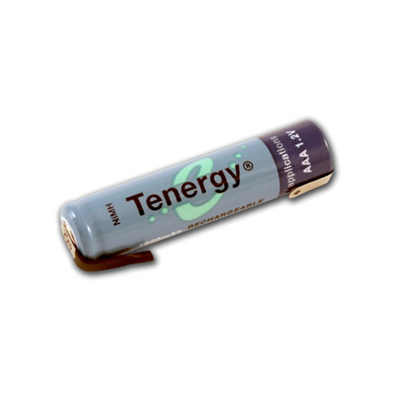 aaa rechargeable battery 1000mah nimh flat top w tabs ebay. Black Bedroom Furniture Sets. Home Design Ideas