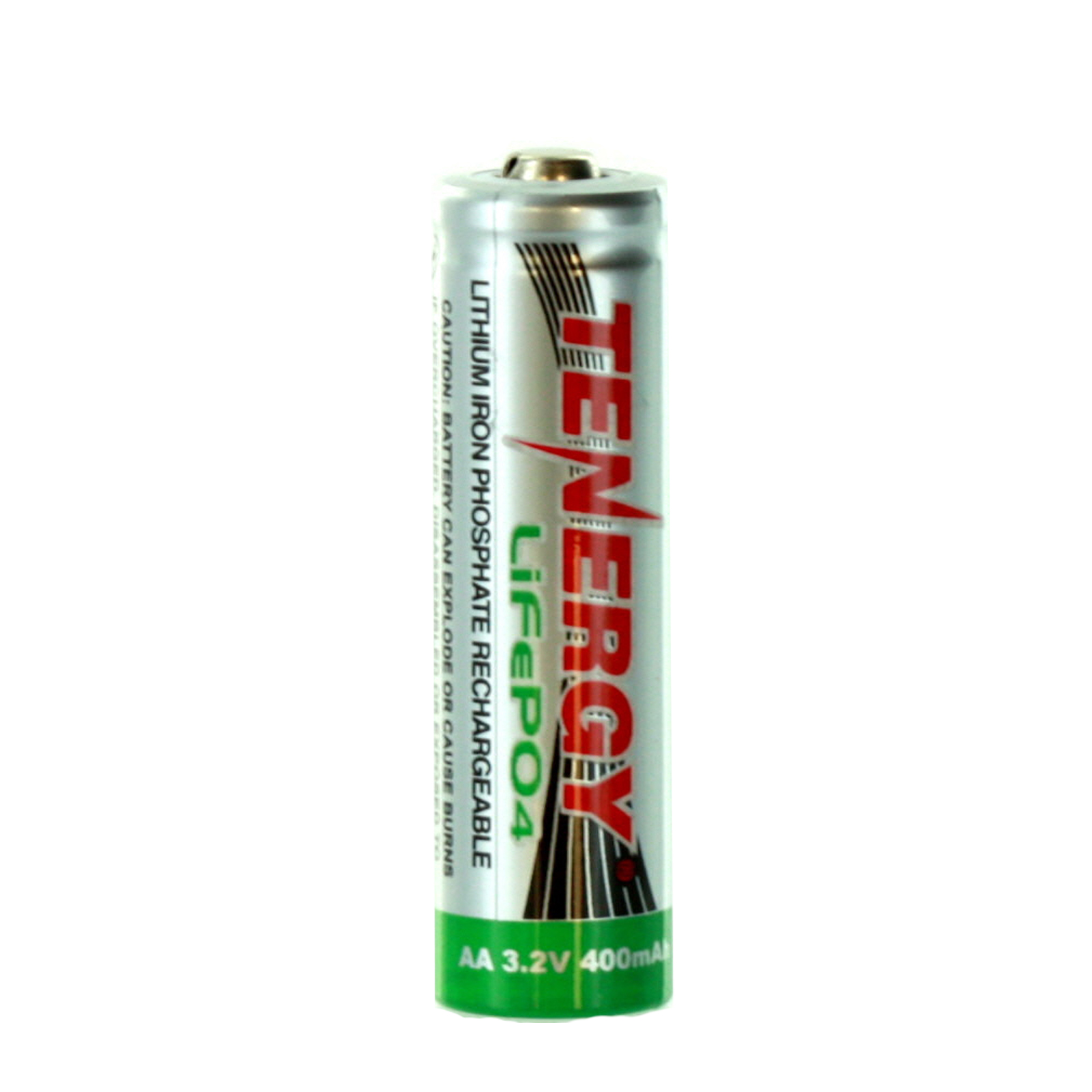 Tenergy 14500 AA 3.2V LiFePO4 Rechargeable Battery