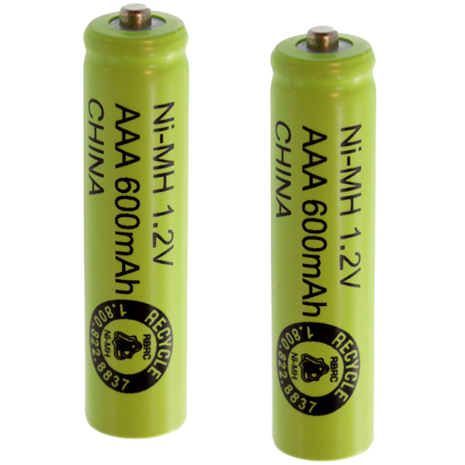 2pc exell aaa sz rechargeable battery 600mah nimh 1 2v button top cell usa ship ebay. Black Bedroom Furniture Sets. Home Design Ideas