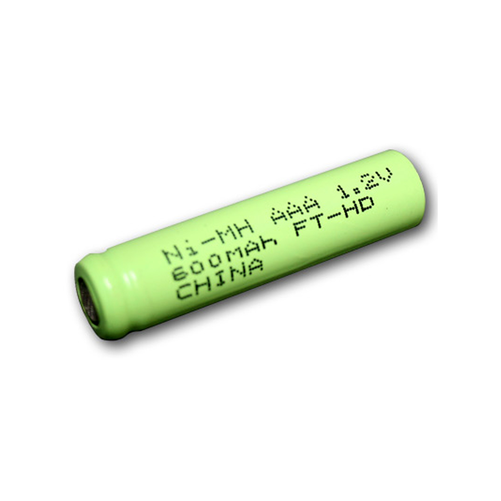 aaa size rechargeable battery 600mah nimh 1 2v flat top cell fast usa ship. Black Bedroom Furniture Sets. Home Design Ideas