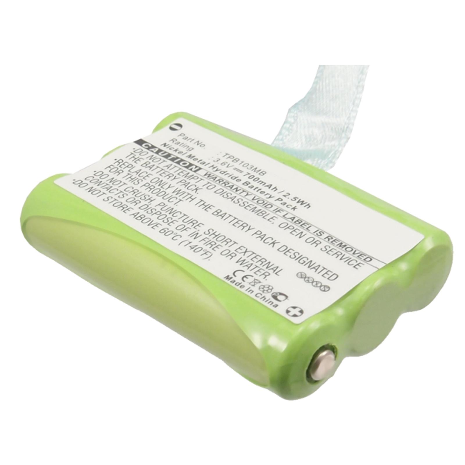 3 6v baby monitor battery for topcom babytalker 1010 1020 1030 twintalker 3700 ebay. Black Bedroom Furniture Sets. Home Design Ideas
