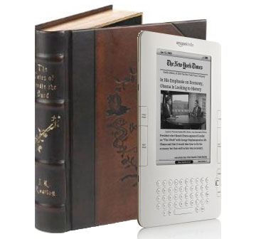 BatteriesInAFlash explores the popularity of the Kindle and eBooks