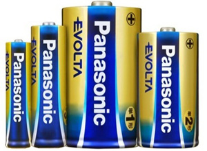 Panasonic's Evolta, Longest Lasting AA Battery