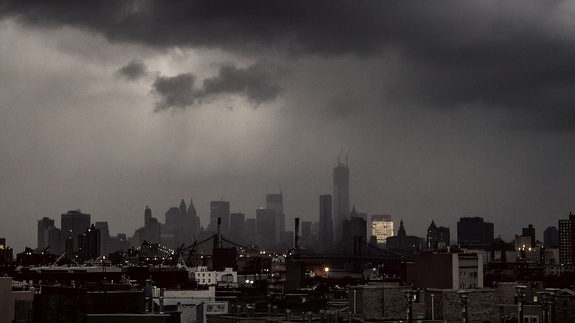 Power Outages Across NY as Seen From Brooklyn