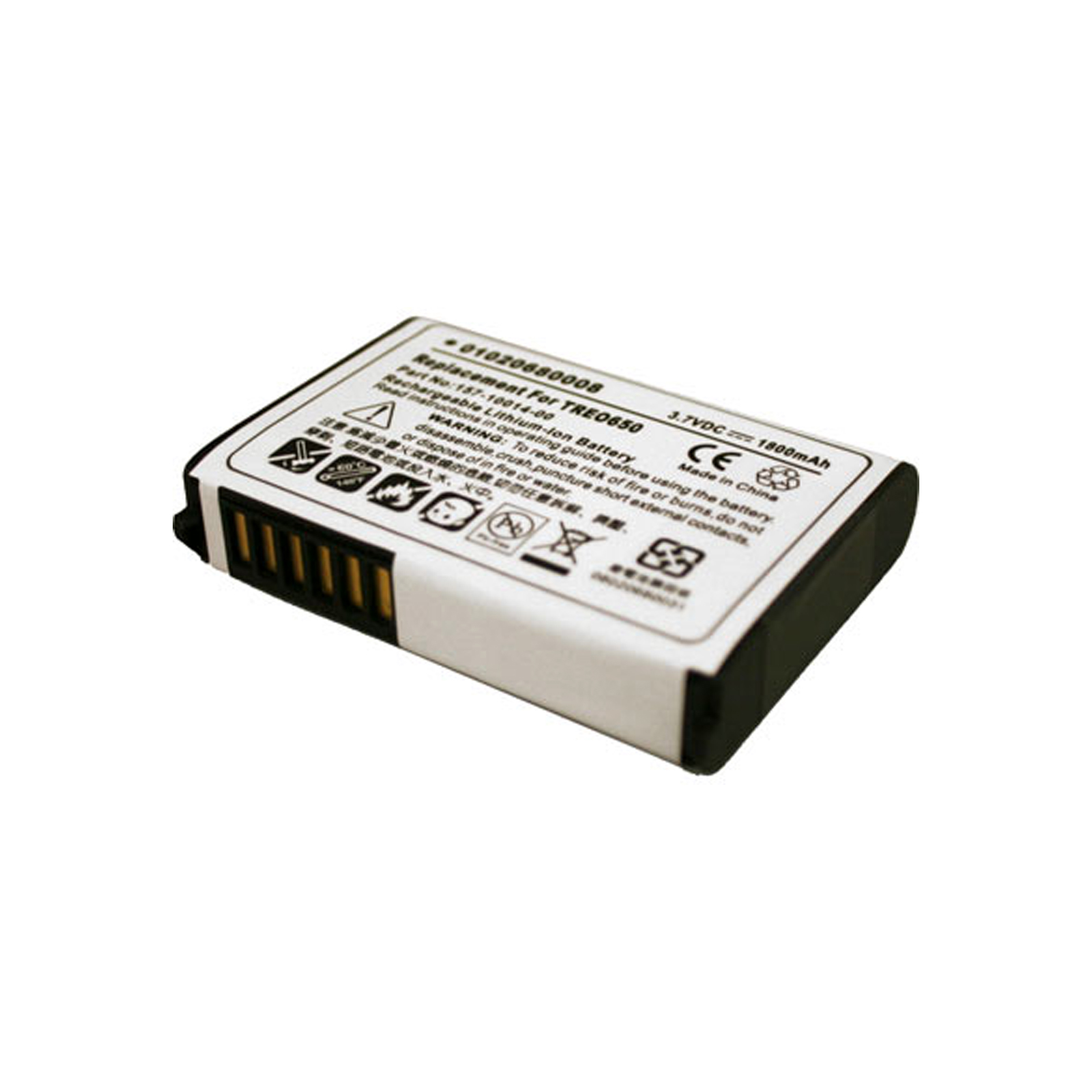 Battery Fits Palm Treo 650 Ace Replaces 3184WW 419735