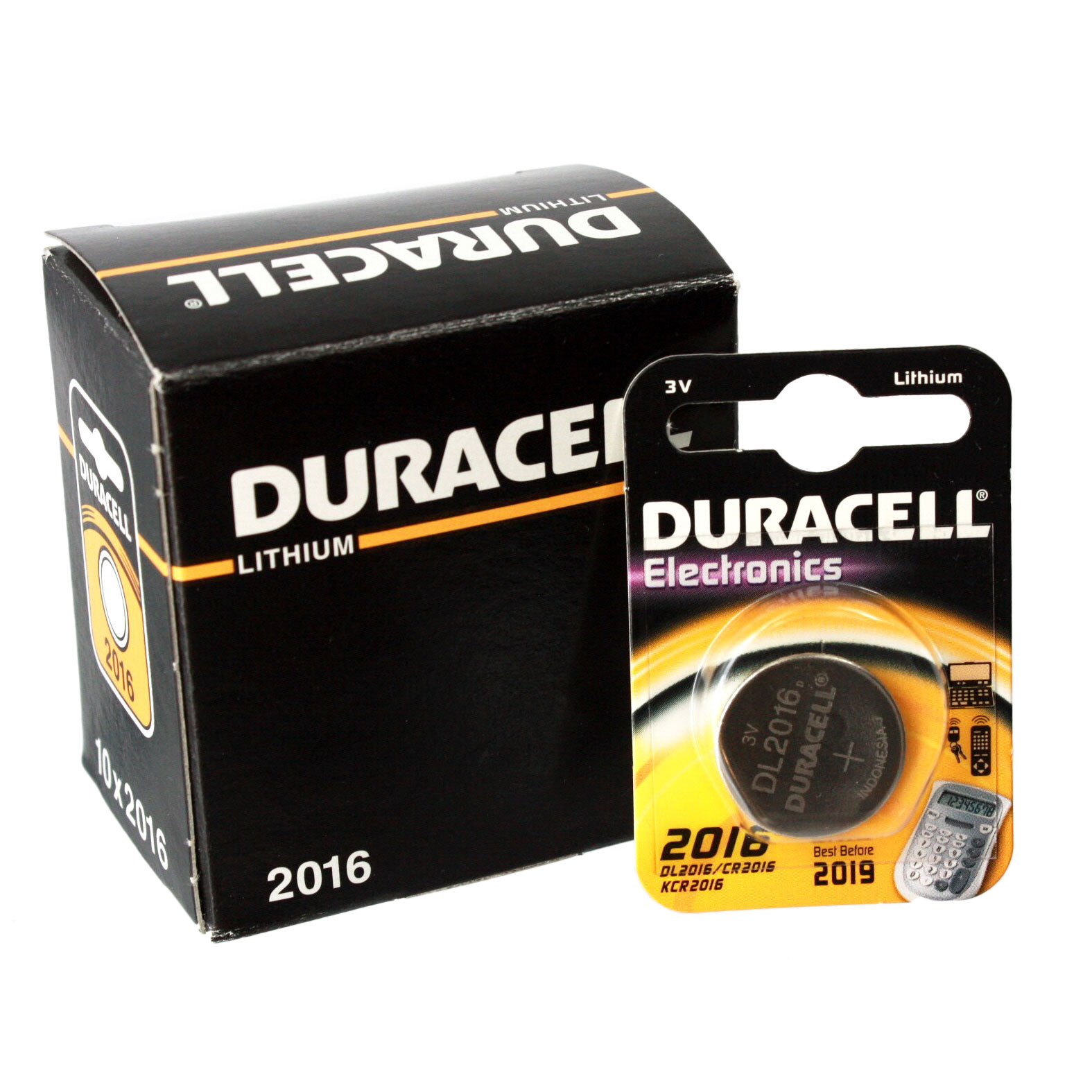 10pk duracell coin cell battery dl2016 lithium replaces. Black Bedroom Furniture Sets. Home Design Ideas
