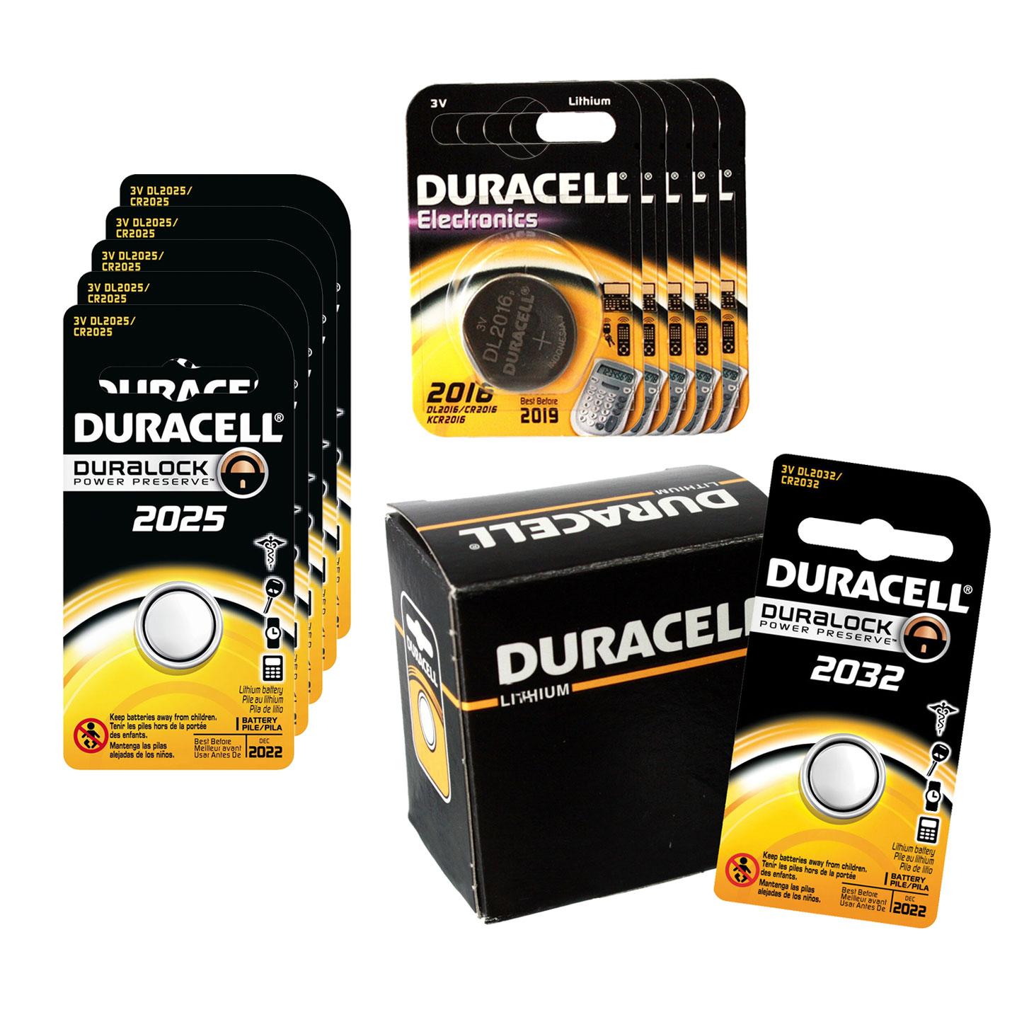 20pc Duracell 3V Lithium Coin Cell Battery Kit- DL2032