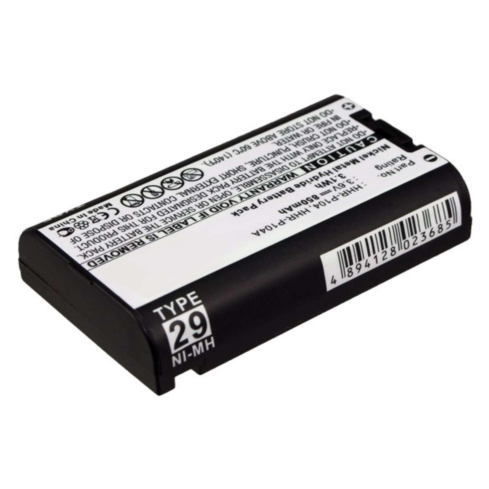 foto de Cordless Phone Battery EBCP 104 For Panasonic HHR P104
