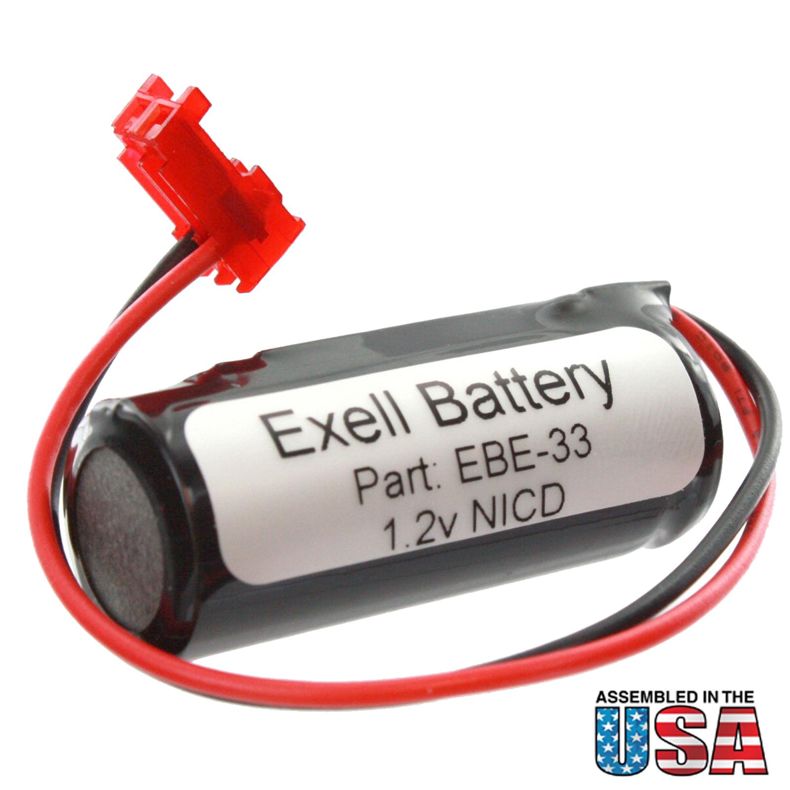 Lithonia Lighting Emergency Light Battery: Exit Light Battery For Lithonia ELB1P201N2 ELB1P2901N