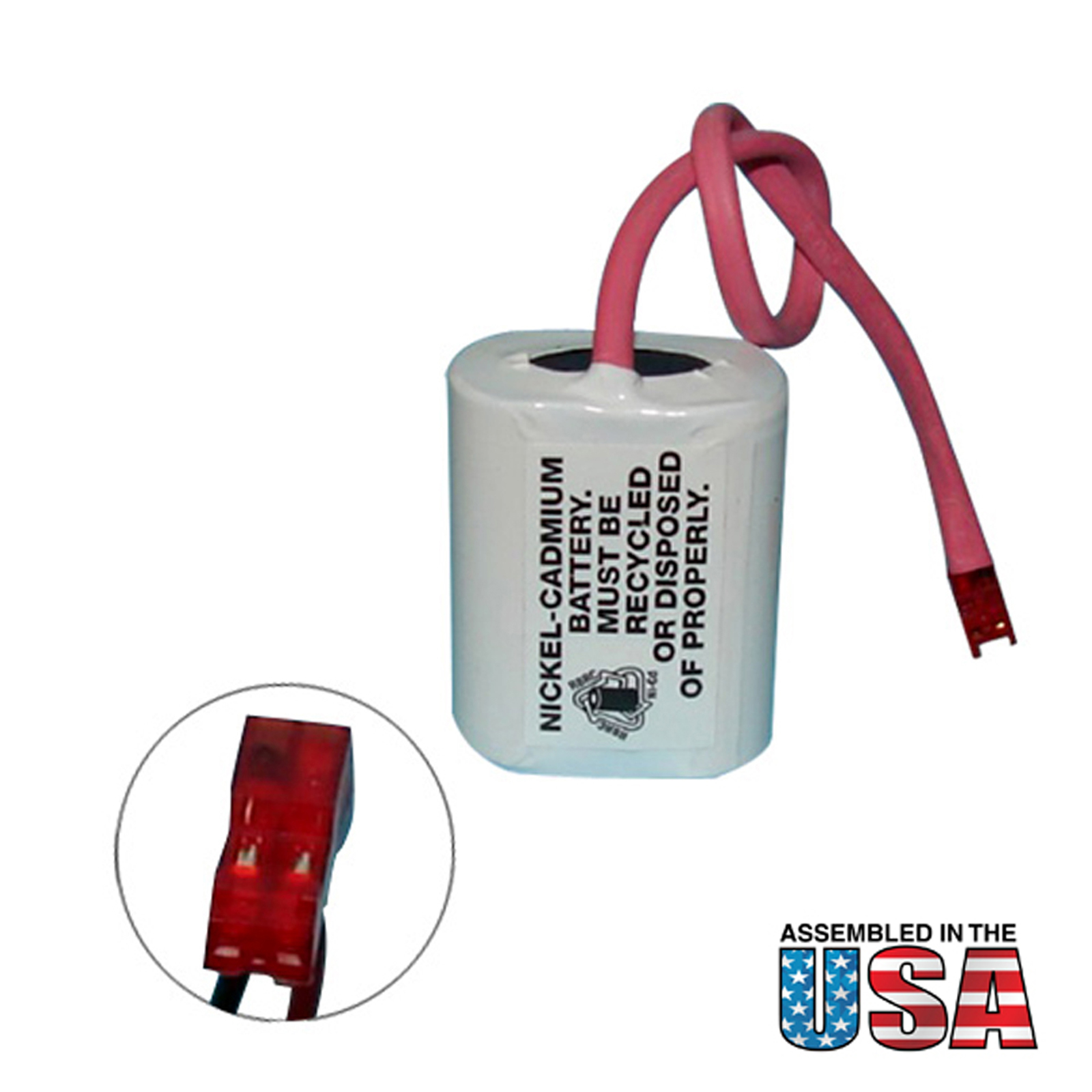 Emergency Lighting Battery Lithonia ELB2P401N Interstate ANIC1158