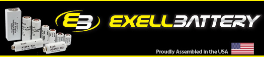 Exell Battery's Vintage batteries are proudly Made in the US