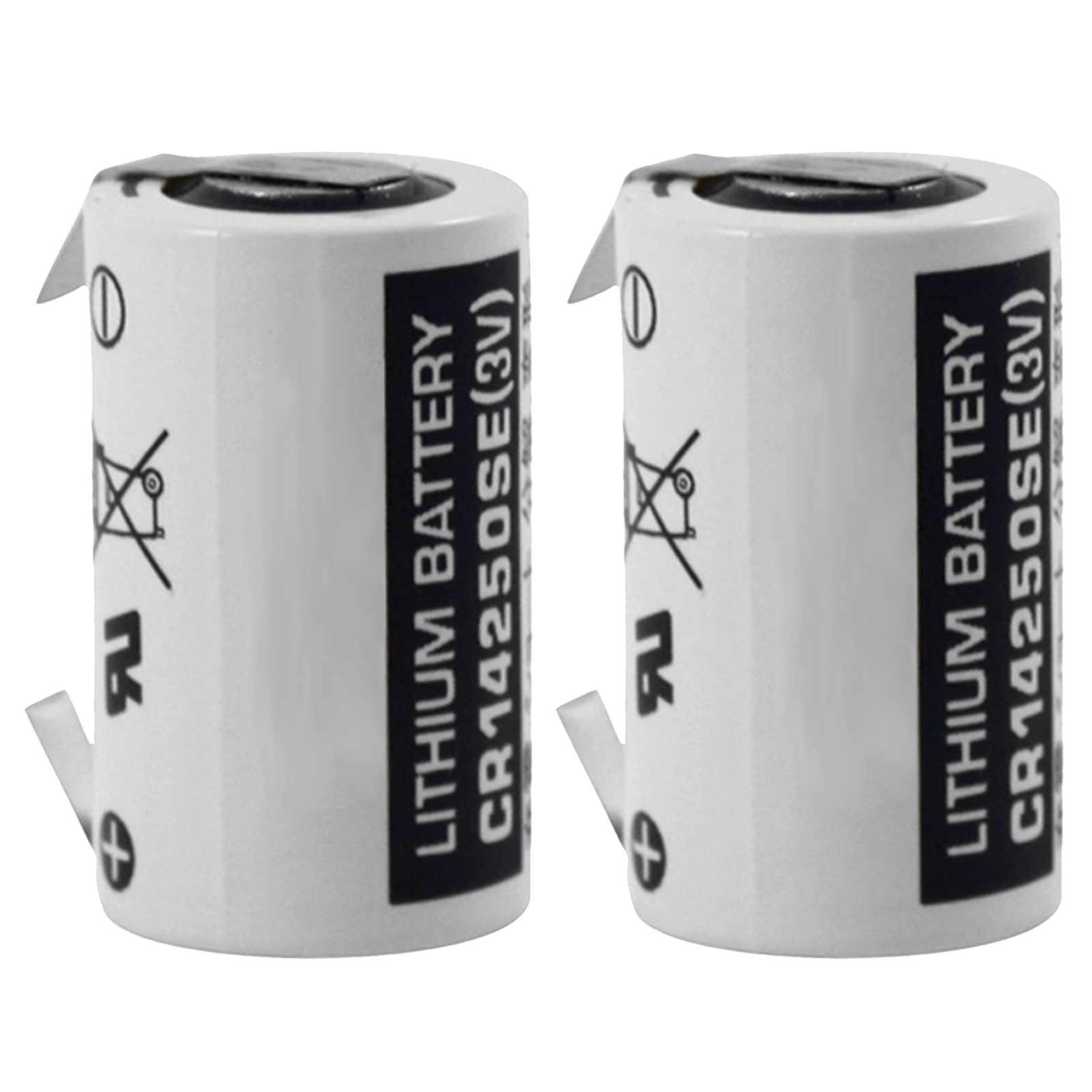 2pc fdk cr14250se t 3v 1 2 aa laser lithium battery with solder tabs usa ship ebay. Black Bedroom Furniture Sets. Home Design Ideas
