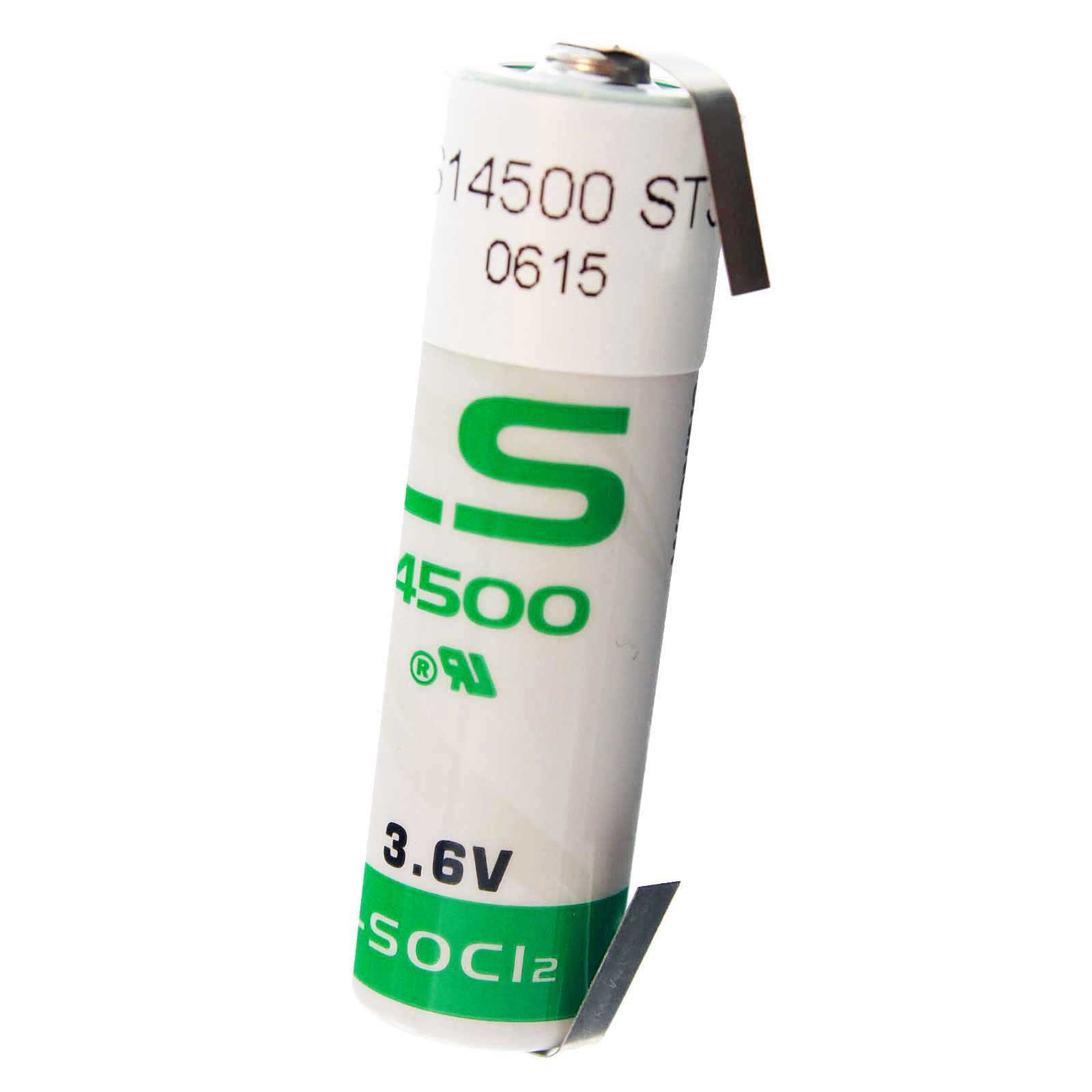 saft ls14500 tab aa battery 3 6v 2600mah lithium for. Black Bedroom Furniture Sets. Home Design Ideas