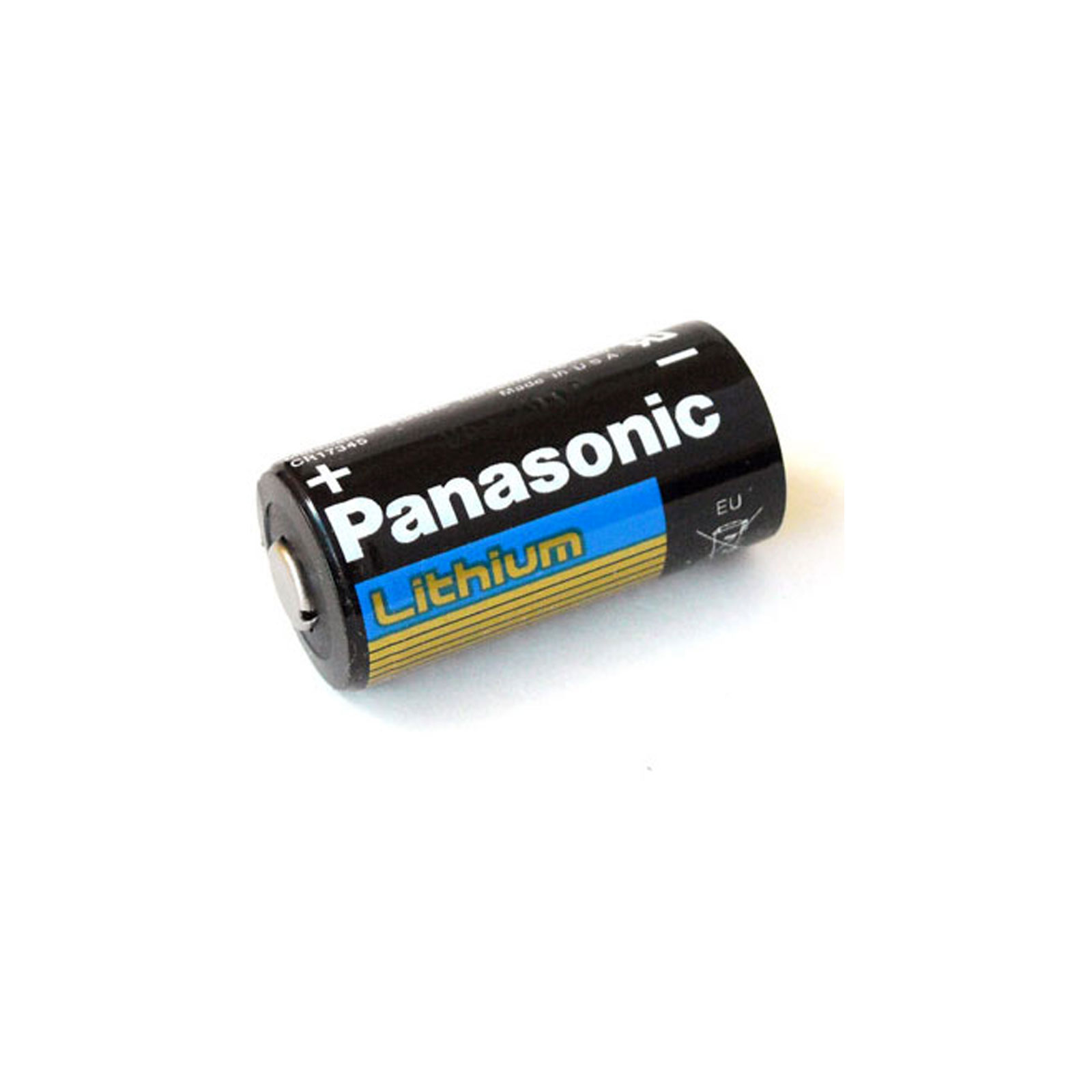 panasonic lithium cr123a 3v battery replaces el123 ebay. Black Bedroom Furniture Sets. Home Design Ideas