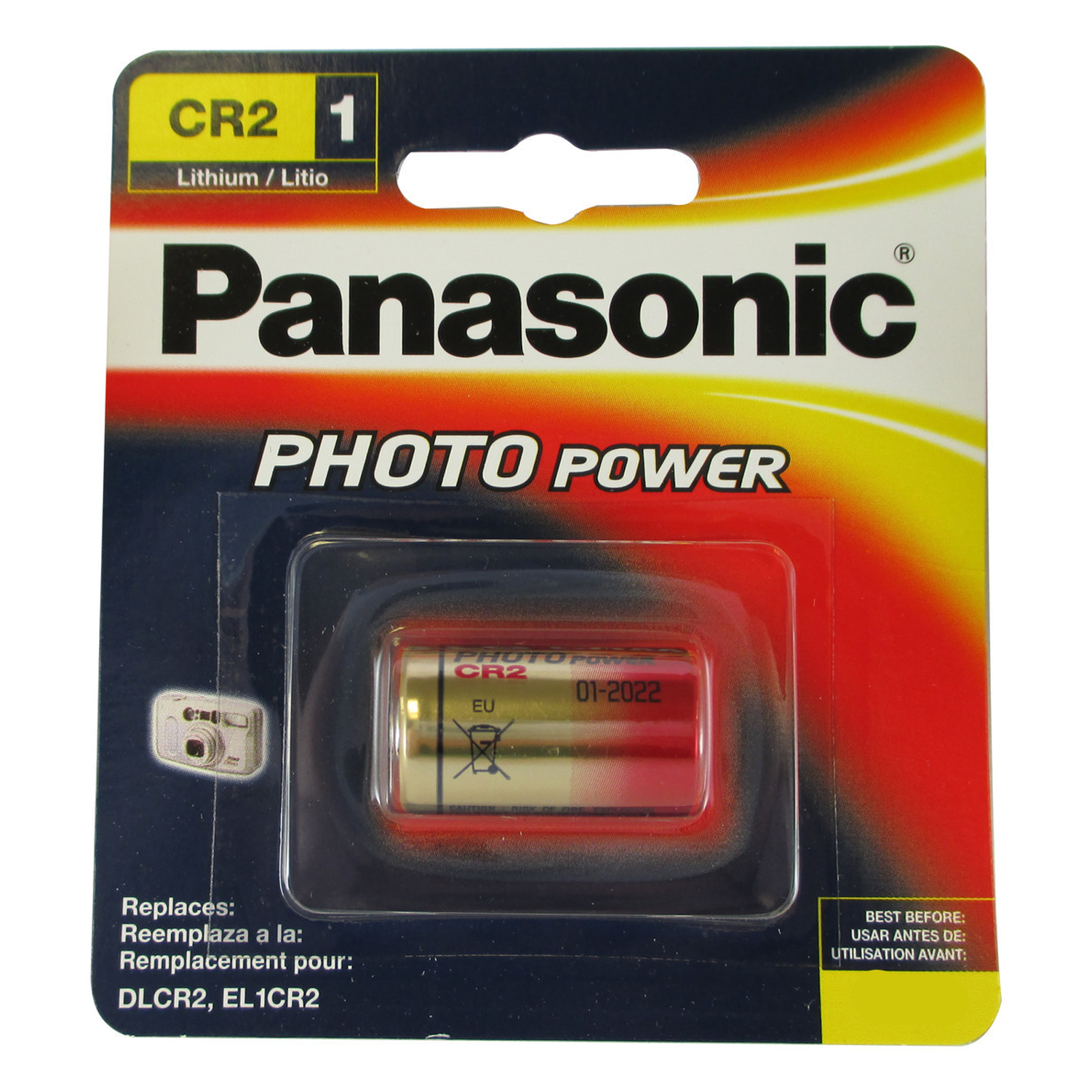 panasonic 3v cr 2 photo lithium battery replaces el cr2 gpcr rlcr2 fast usa ship ebay. Black Bedroom Furniture Sets. Home Design Ideas