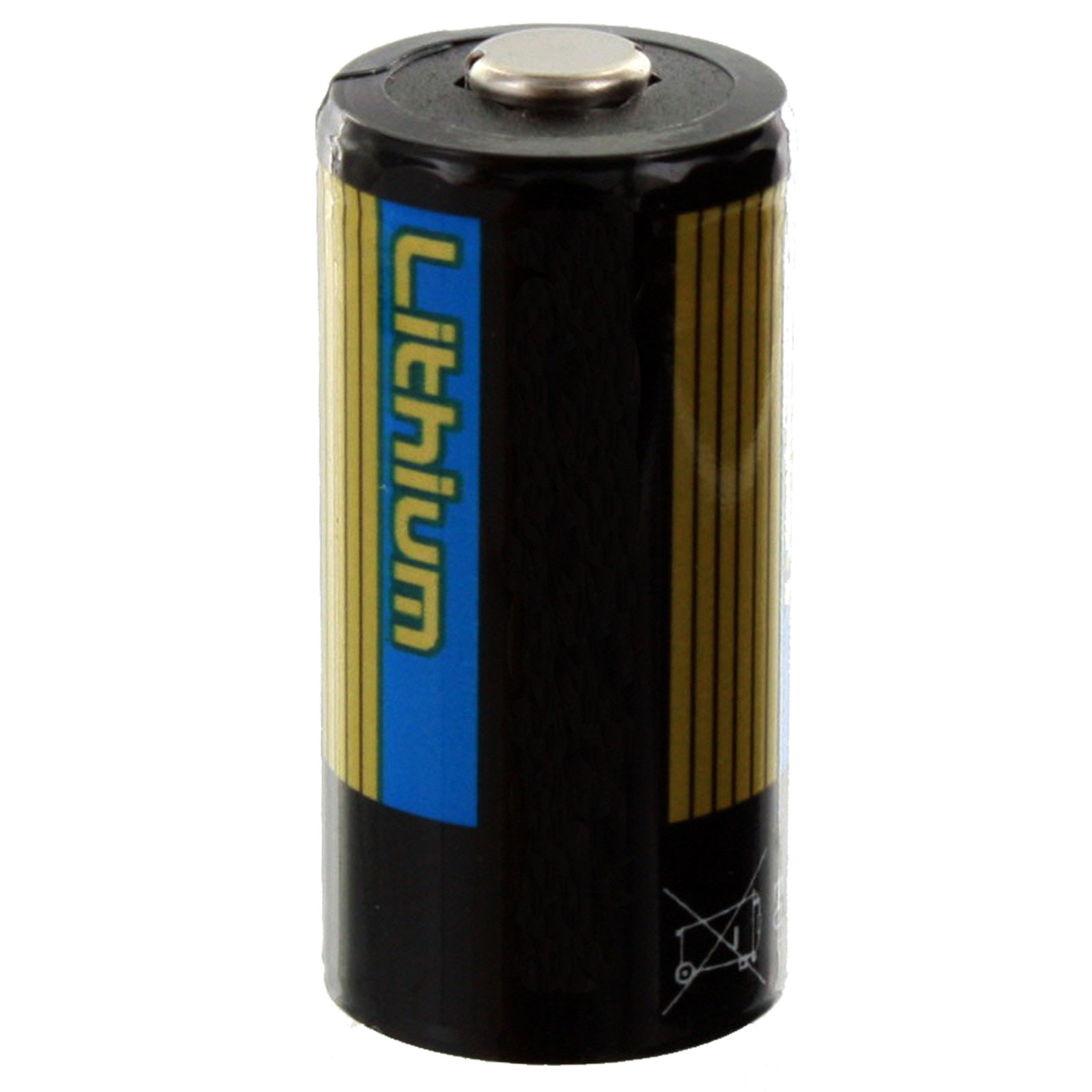 exell battery eb 123 3v cr123 high quality lithium battery fast usa ship ebay. Black Bedroom Furniture Sets. Home Design Ideas