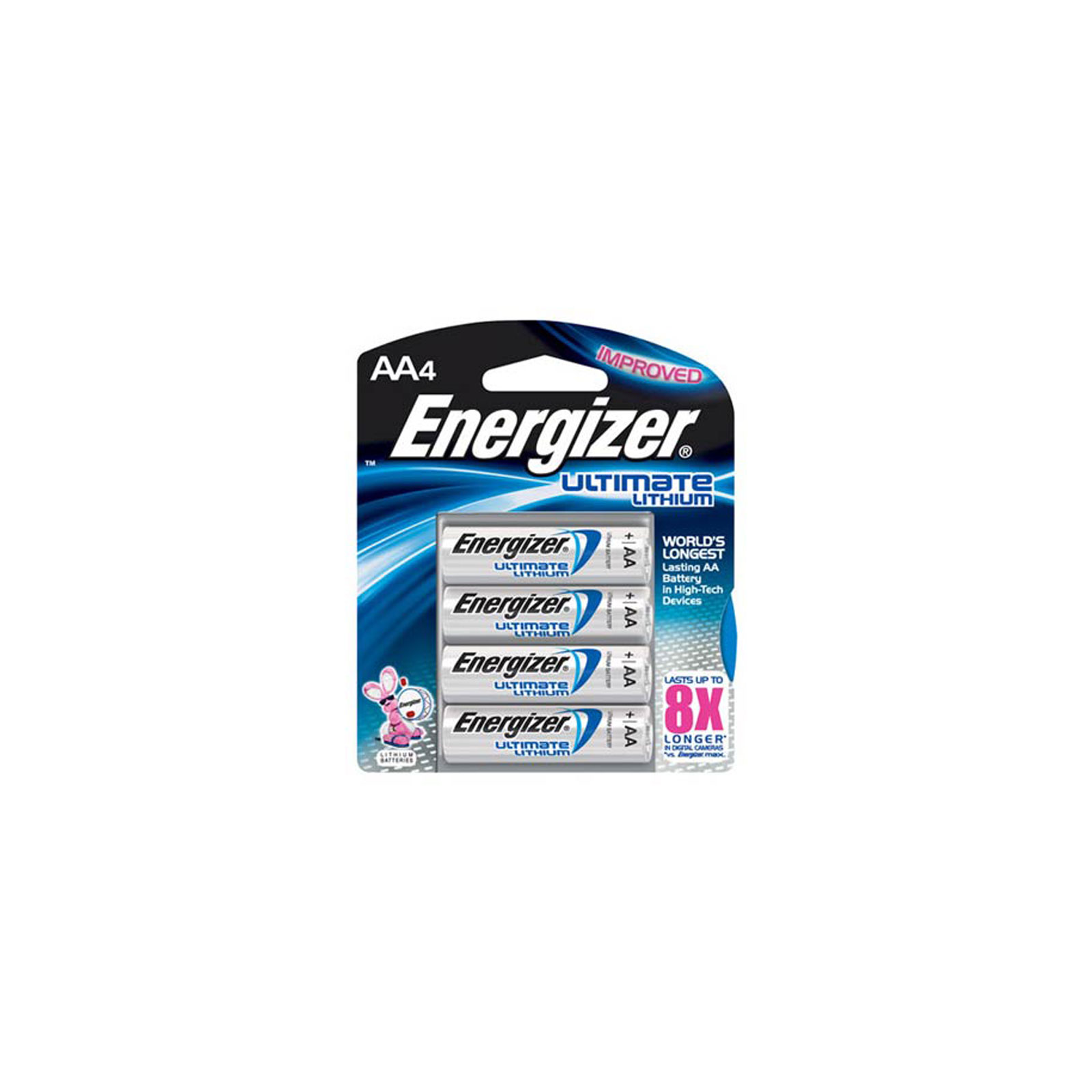 4pk energizer aa 1 5v ultimate lithium batteries l91 bp4. Black Bedroom Furniture Sets. Home Design Ideas