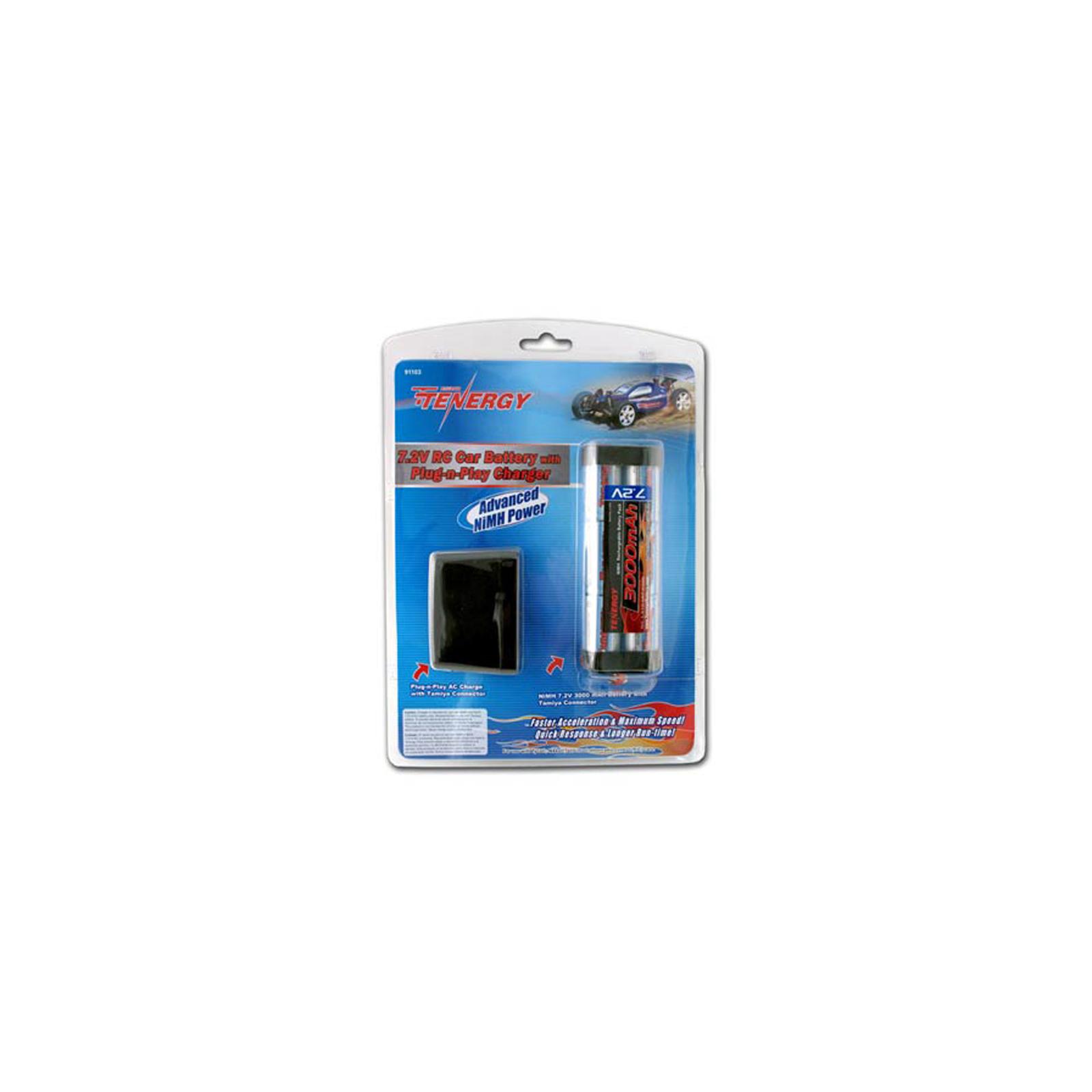 rc car battery pack and plug n play charger 7 2v 3000mah nimh ebay. Black Bedroom Furniture Sets. Home Design Ideas
