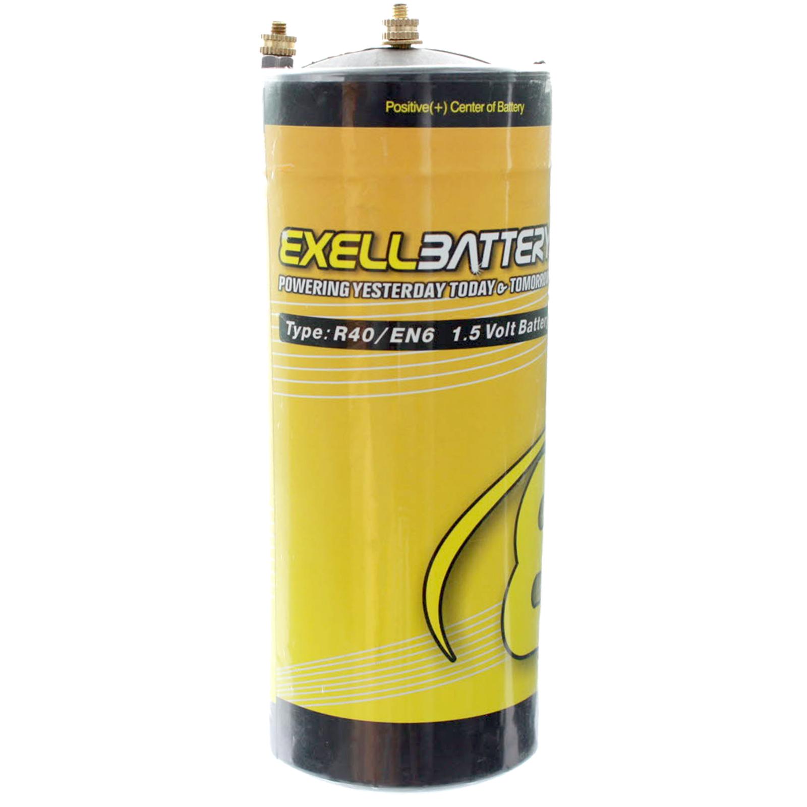 Exell Battery EBR40 Type R40 1.5V Battery EN6, HO40, 906AC ...