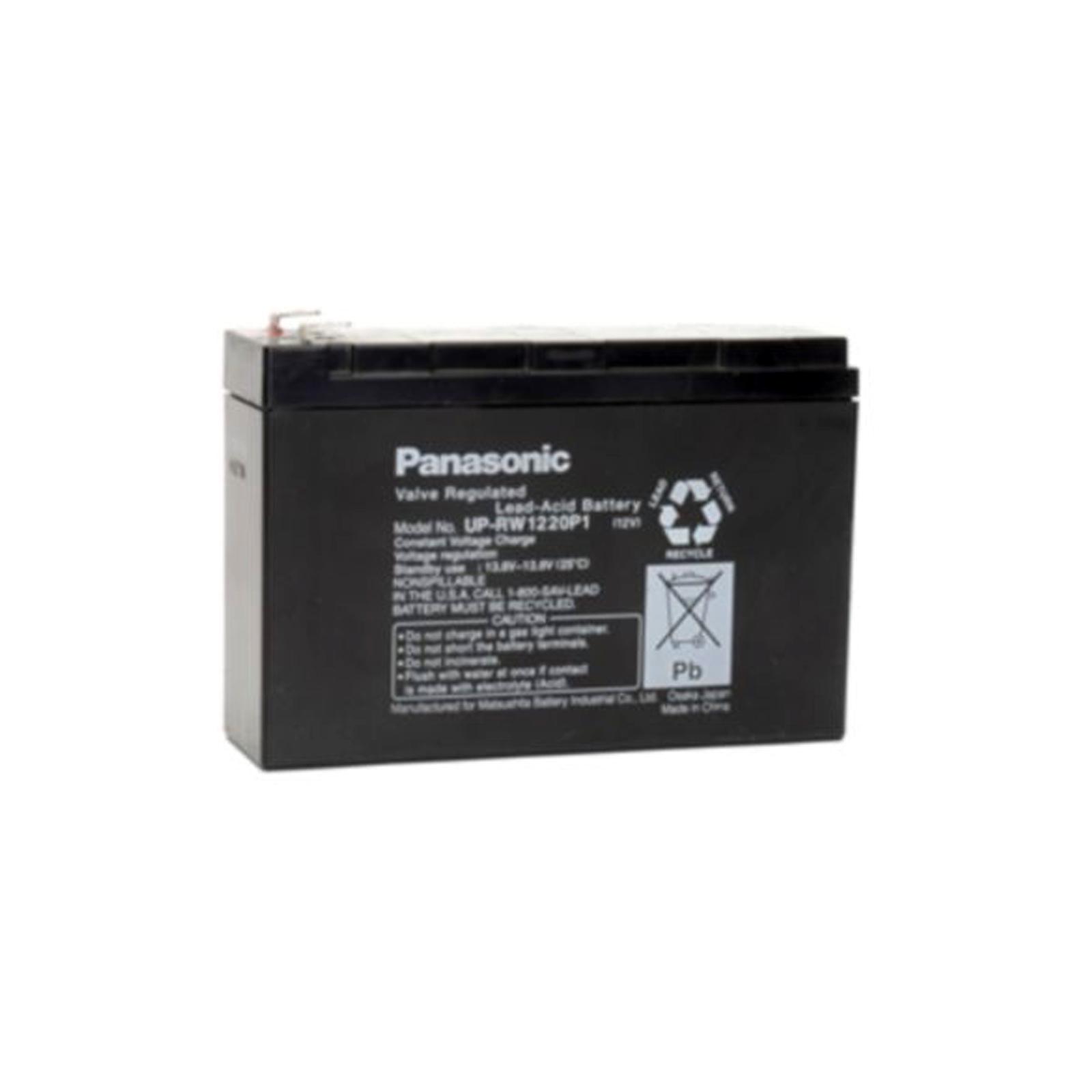 Sealed Lead Acid Battery on Panasonic Up Rw1220p1 Sealed Lead Acid Battery 12v 3 5ah Sla   Ebay