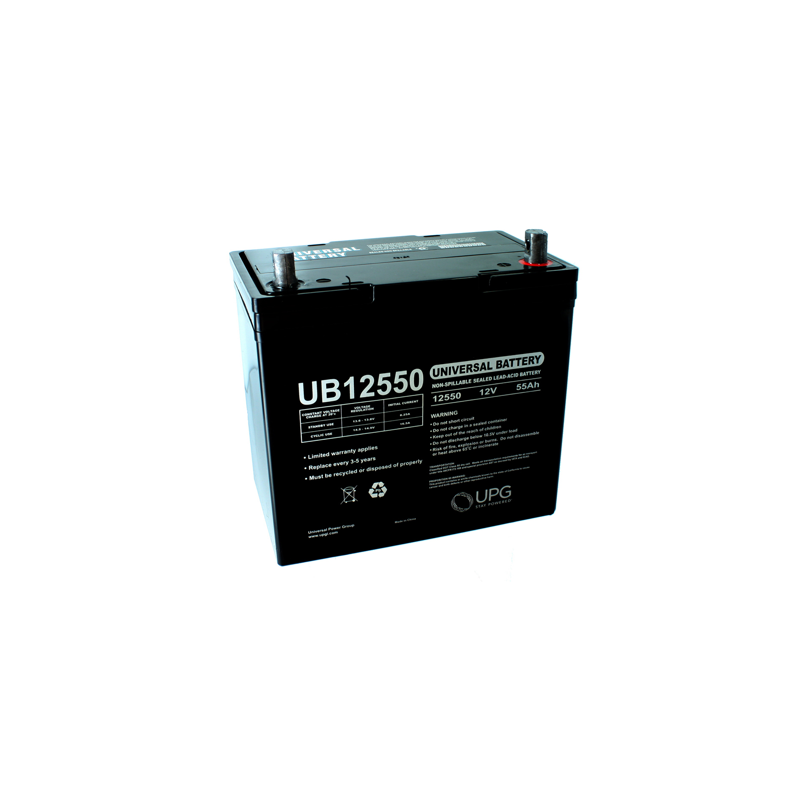 Sealed Battery on 12v 55ah Scooter Battery Ub12550 For Hoveround Teknique   Ebay