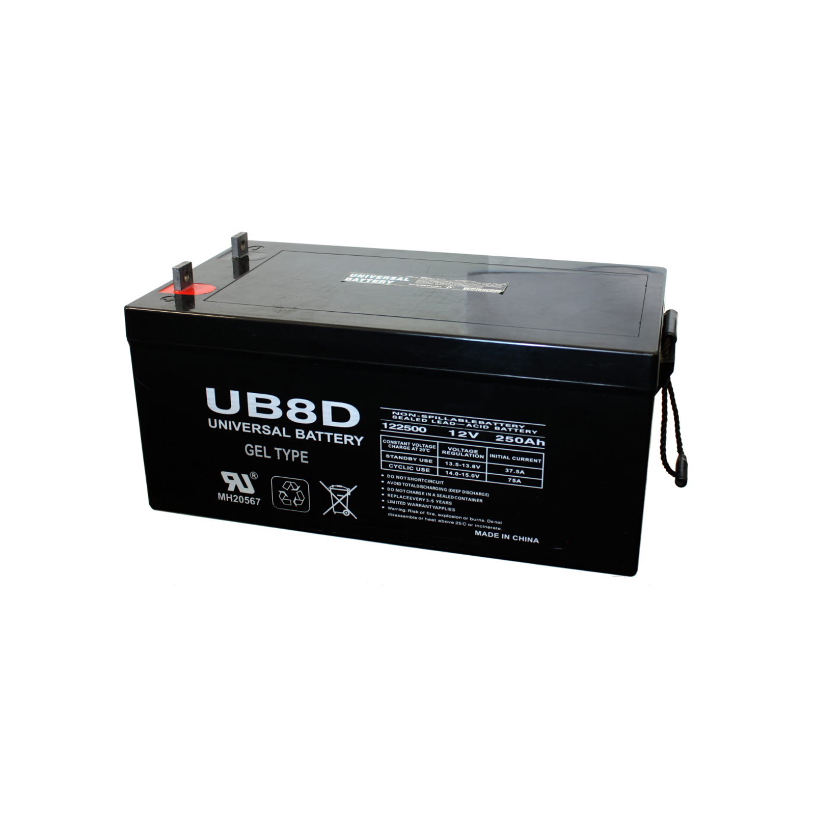Lead Acid Battery : V ah sealed lead acid battery upg ub d agm solar