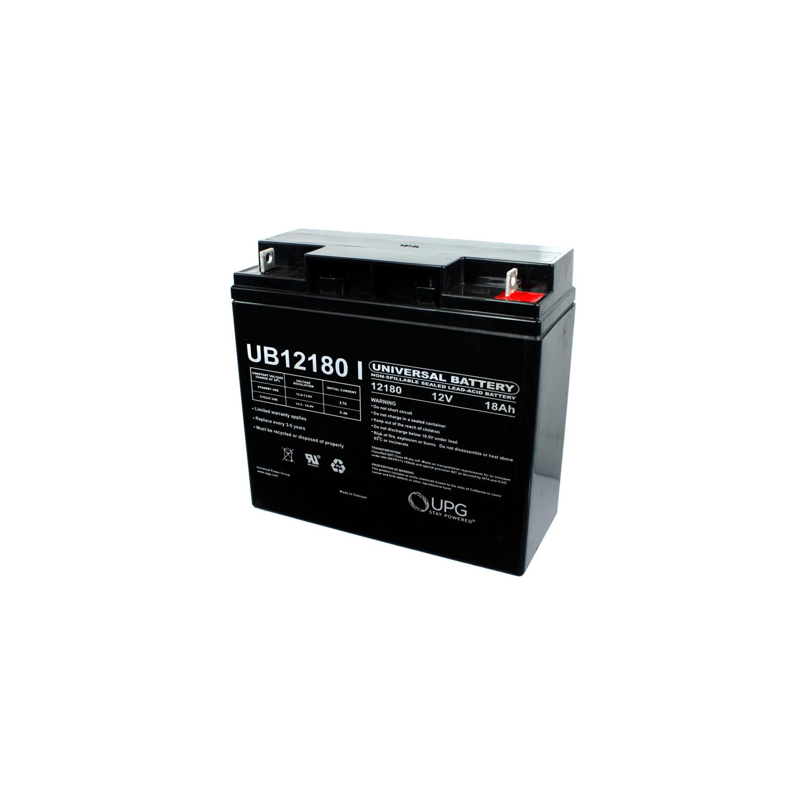 Sealed Lead Acid Battery on 12v 18ah Sla Sealed Lead Acid Battery Universal Ub12180   Ebay