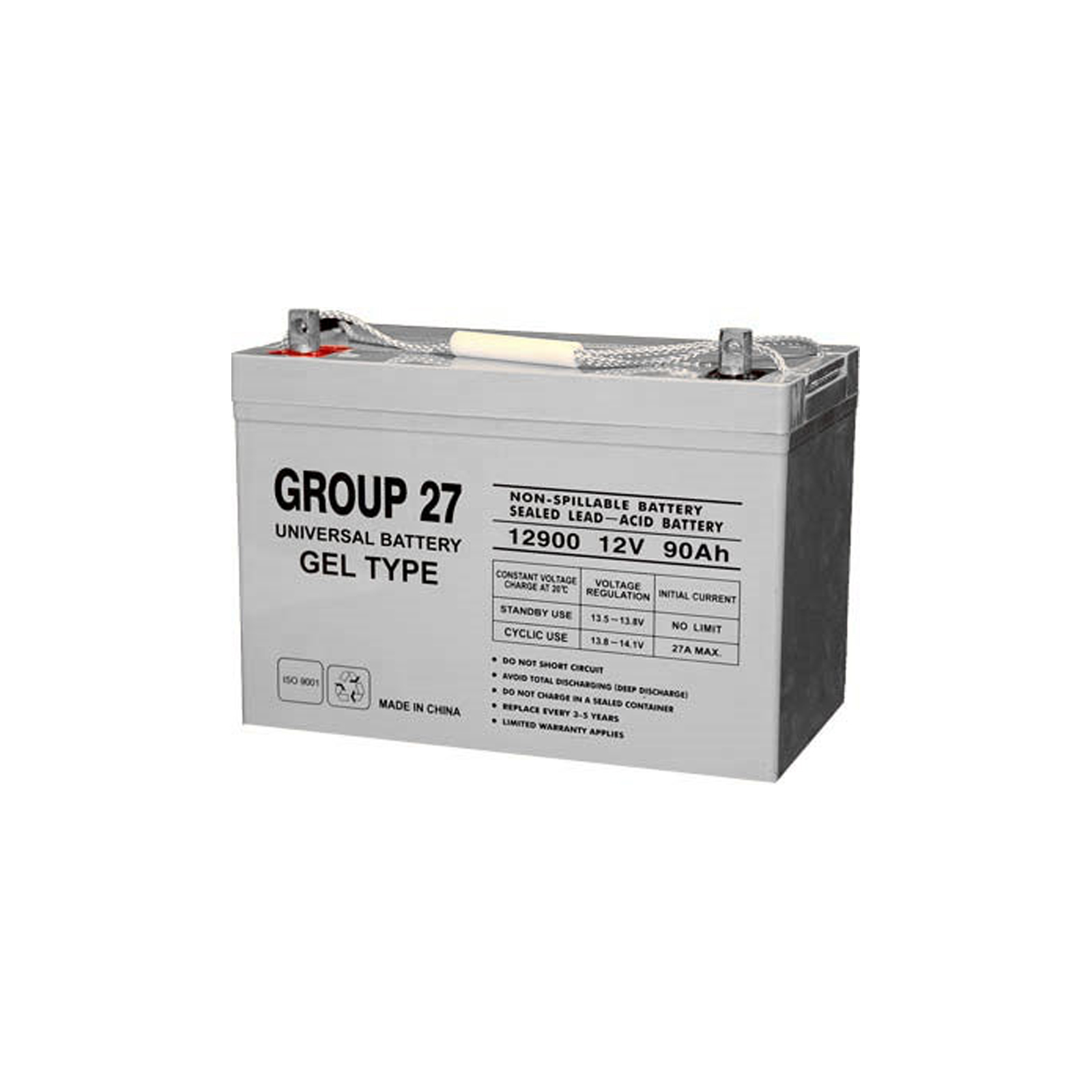 Sealed Lead Acid Battery on 12v 90ah Sealed Lead Acid Gel Cell Battery Ub27 D5873