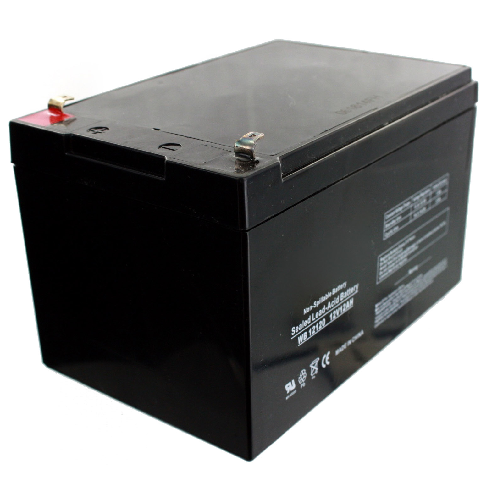 exell 12v 12ah sla battery rechargeable agm replaces. Black Bedroom Furniture Sets. Home Design Ideas