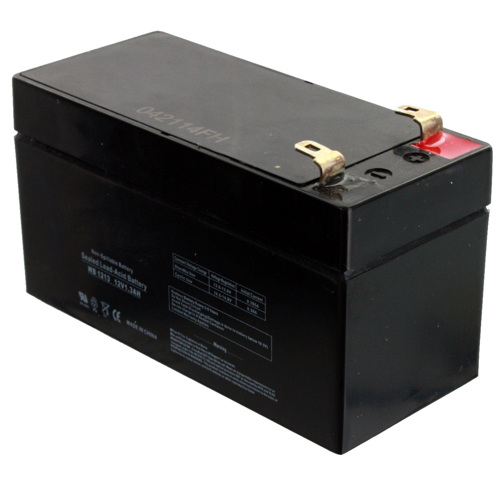 exell 12v 1 3ah sla battery rechargeable agm replaces ub1213 d5738. Black Bedroom Furniture Sets. Home Design Ideas