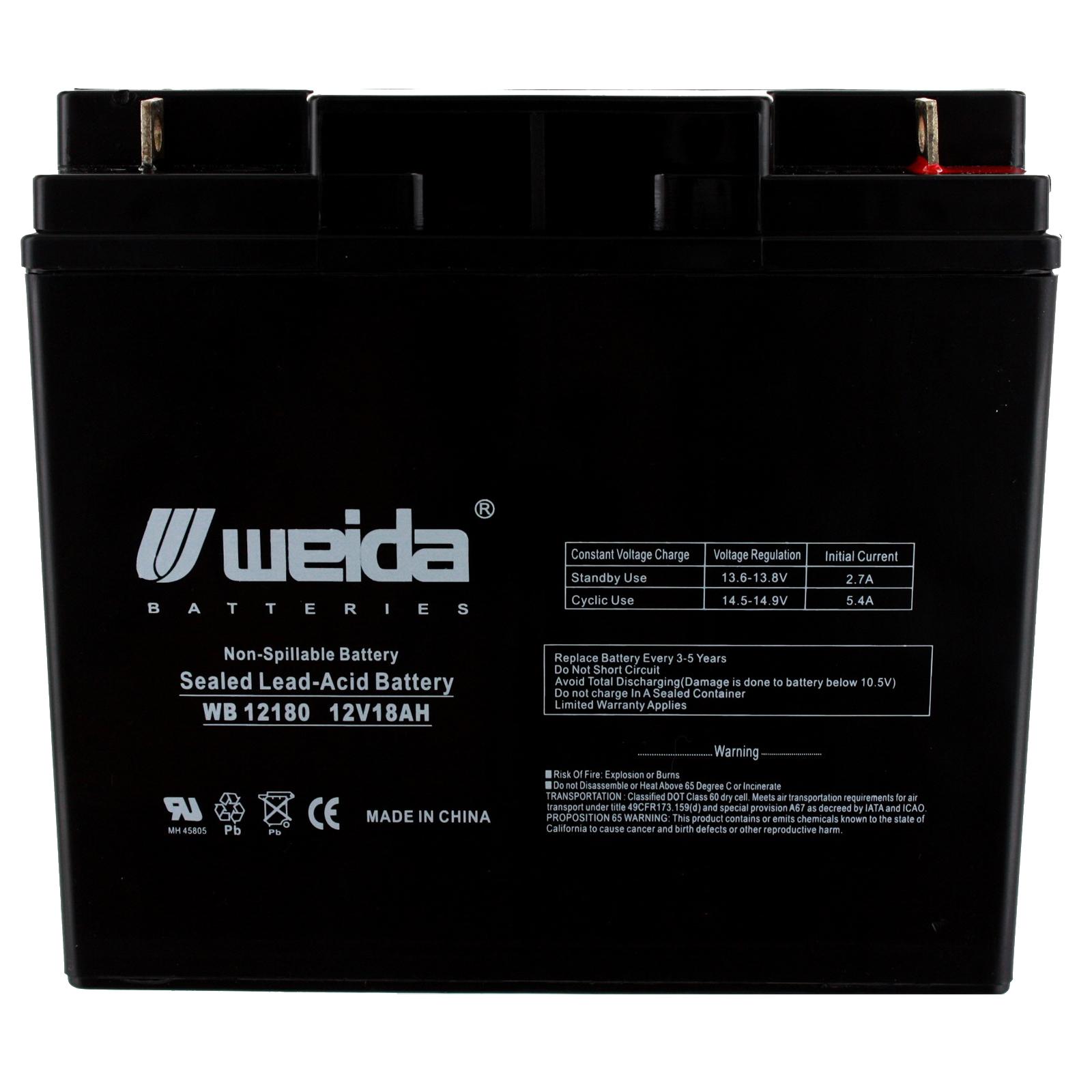 new 12v 18ah sla battery wb12180 for ub12180 ps12180 wka12 18nbl new 12v 18ah sla battery wb12180 for ub12180 ps12180 wka12 18nbl fast usa ship