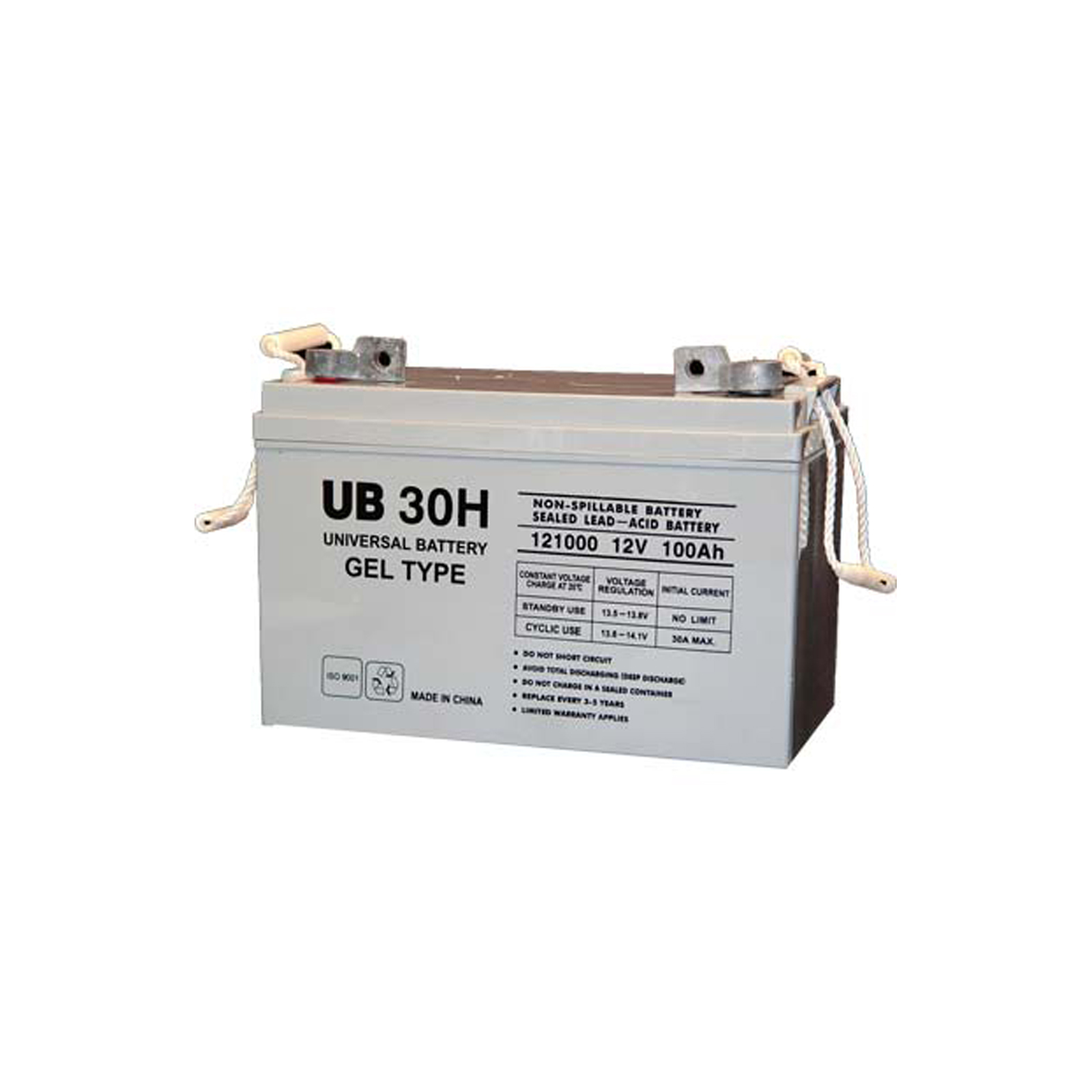 12v 100ah sealed lead acid gel battery universal ub30h ebay. Black Bedroom Furniture Sets. Home Design Ideas