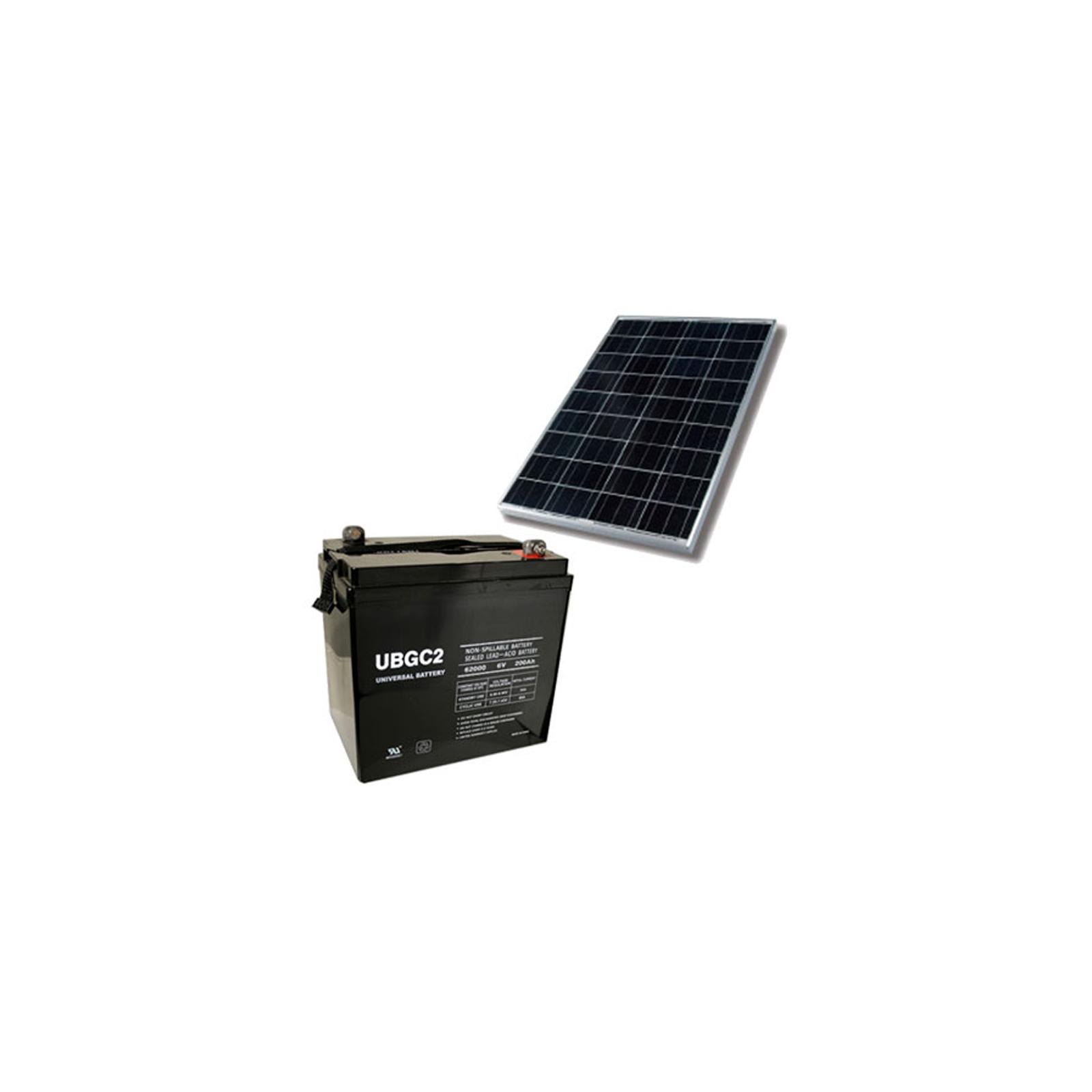 Solar System For Rv Battery Box : W rv marine mobile solar panel system kit battery ebay
