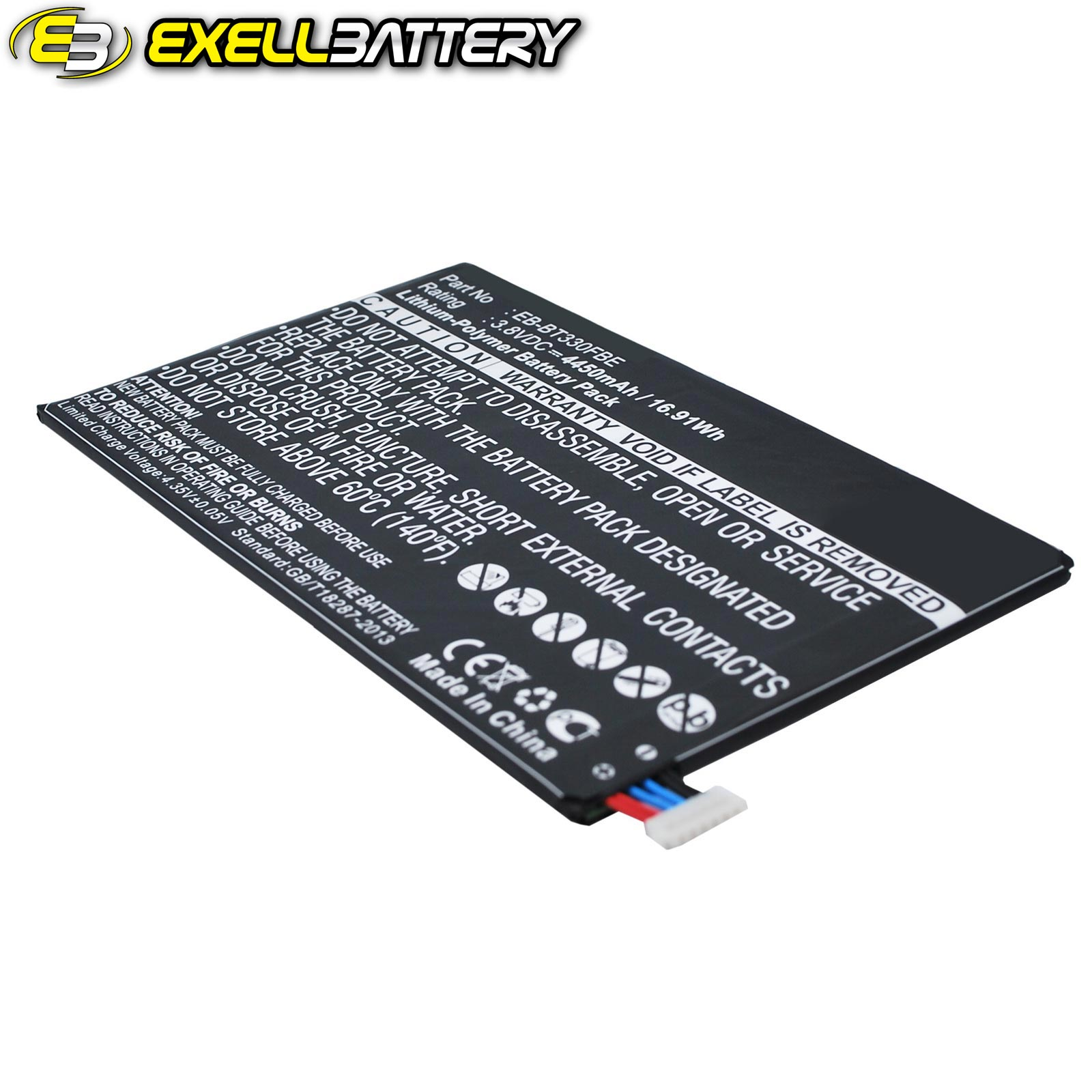 Li Polymer 3 8v Battery For Samsung Galaxy Tab4 8 0 3g Sm