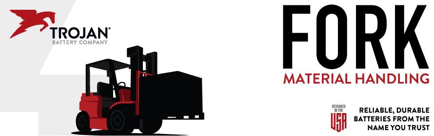Trojan Batteries For Forklifts, Pallet Jacks, Pallet Trucks & Stackers