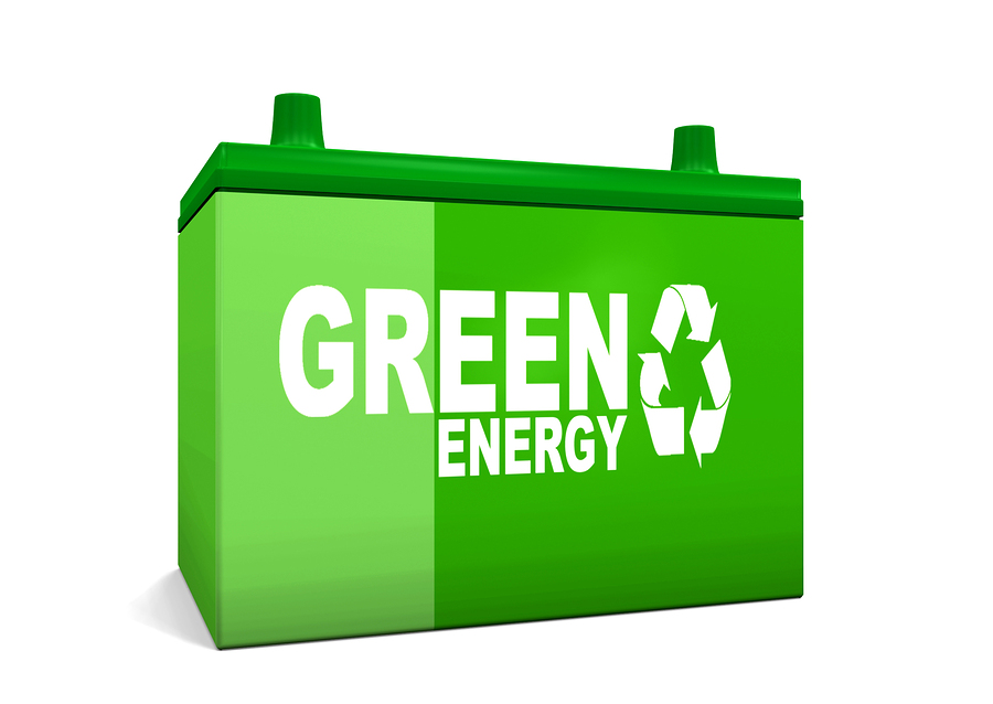 Green Energy Car Battery