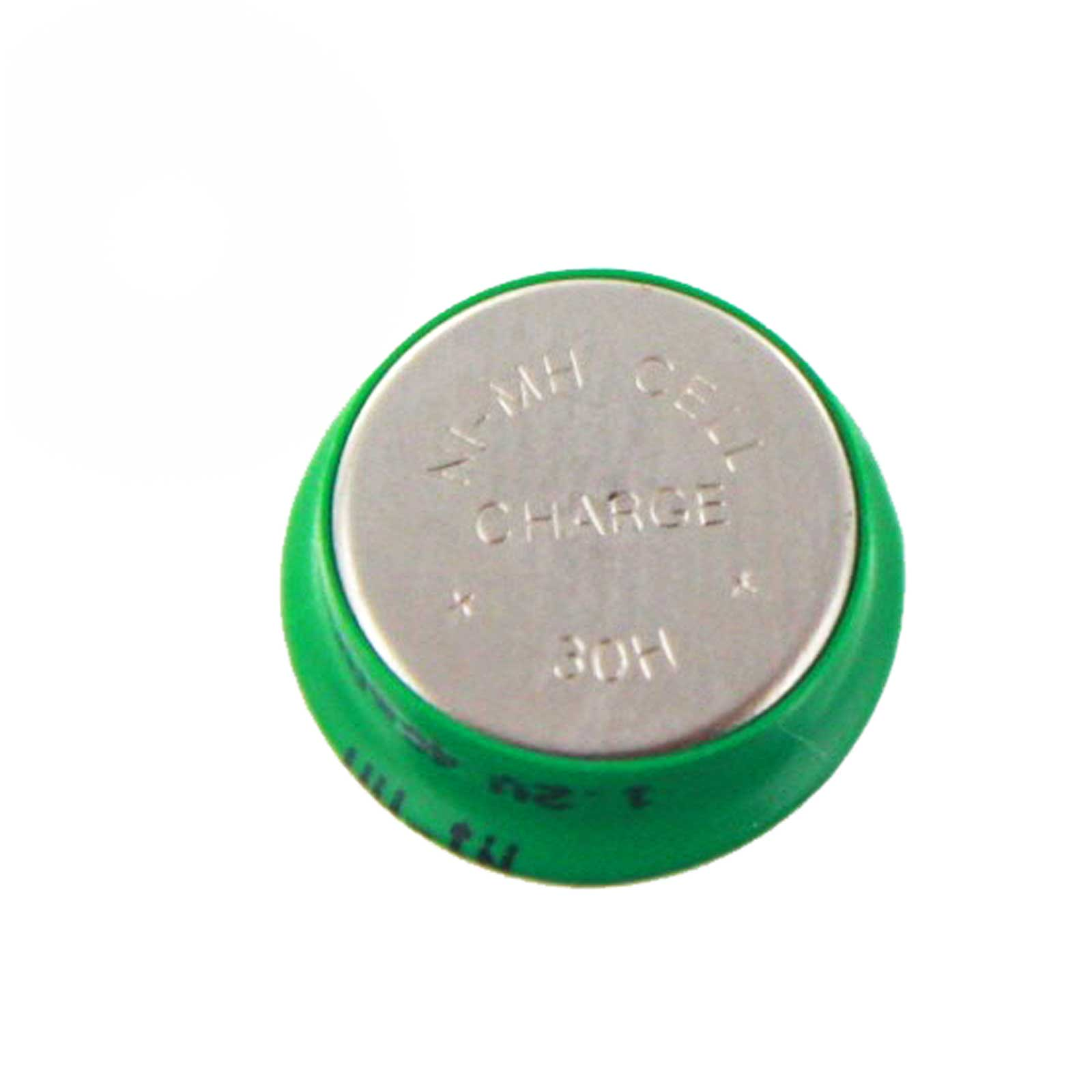 Coin Button Rechargeable Battery 40mah Nimh 1 2v Flat Top