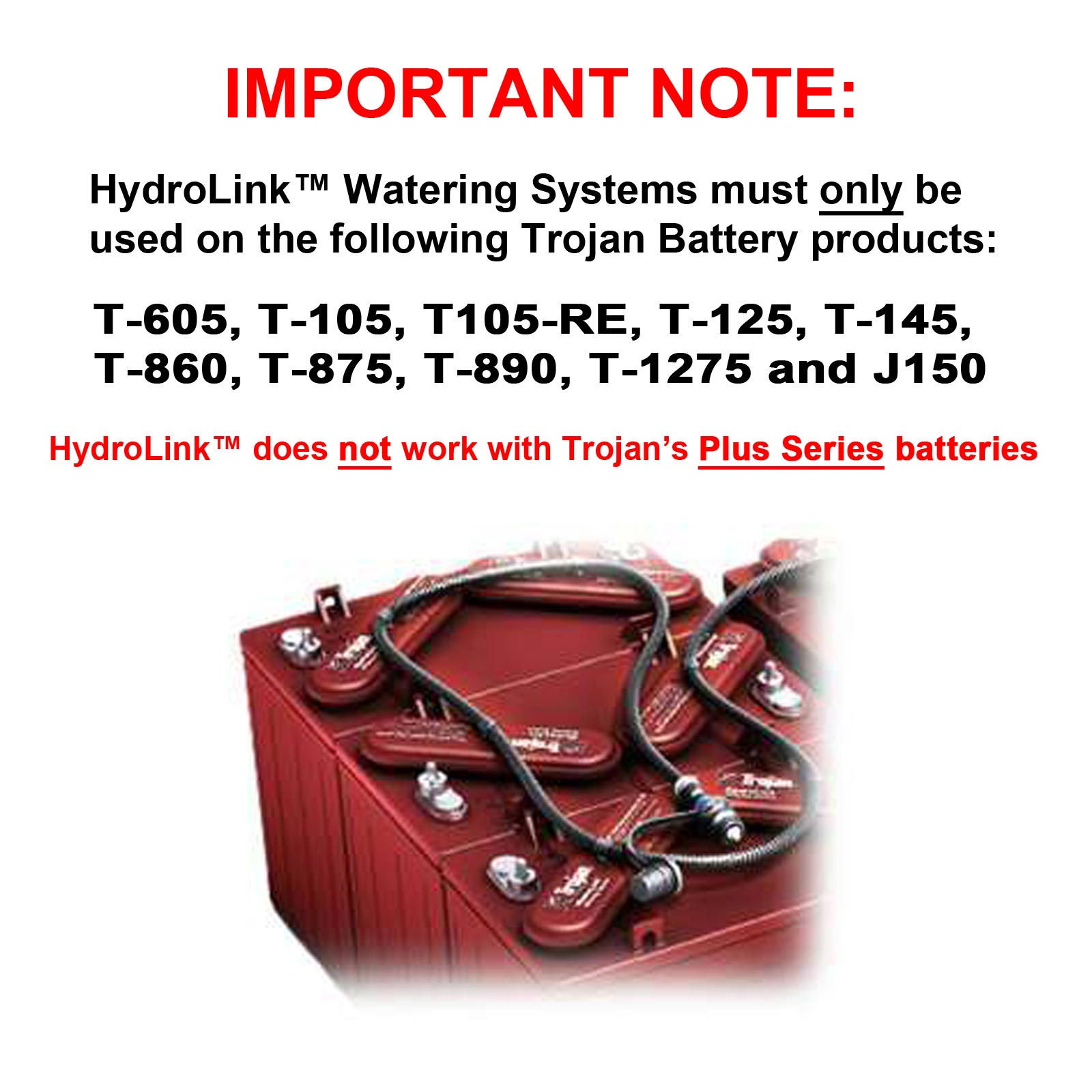 Trojan t 105 12v system with hydrolink watering kit hand pump trojan t 105 12v system with hydrolink watering kit hand pump combo fandeluxe Image collections