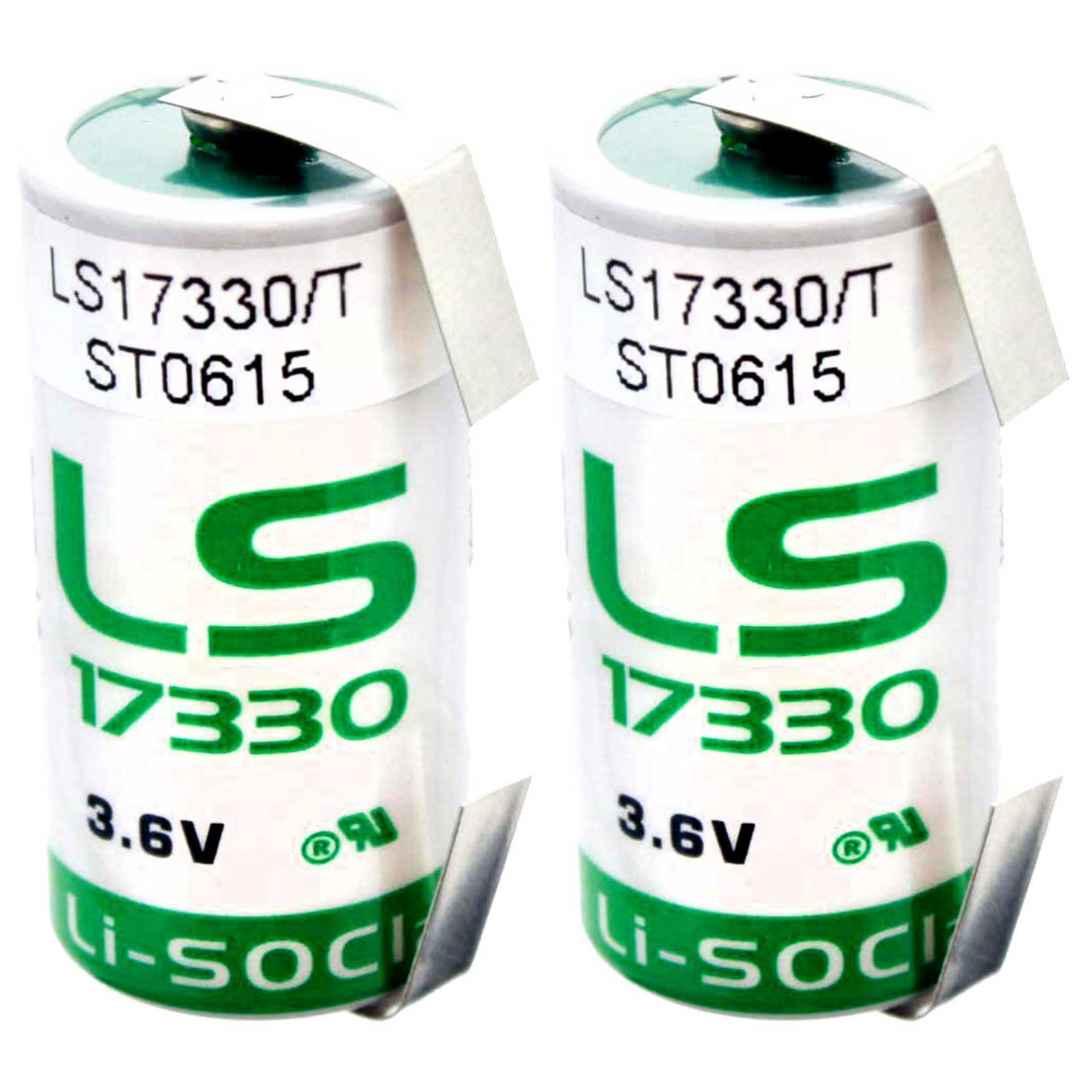 RFID Tracking Locator Beacons Intrusion Sensors Unattended Sensors Invisible Fencing 2x SAFT LS33600/_TAB Size D 3.6V 1700mAh Lithium Battery for Smart Munitions Fleet Monitoring