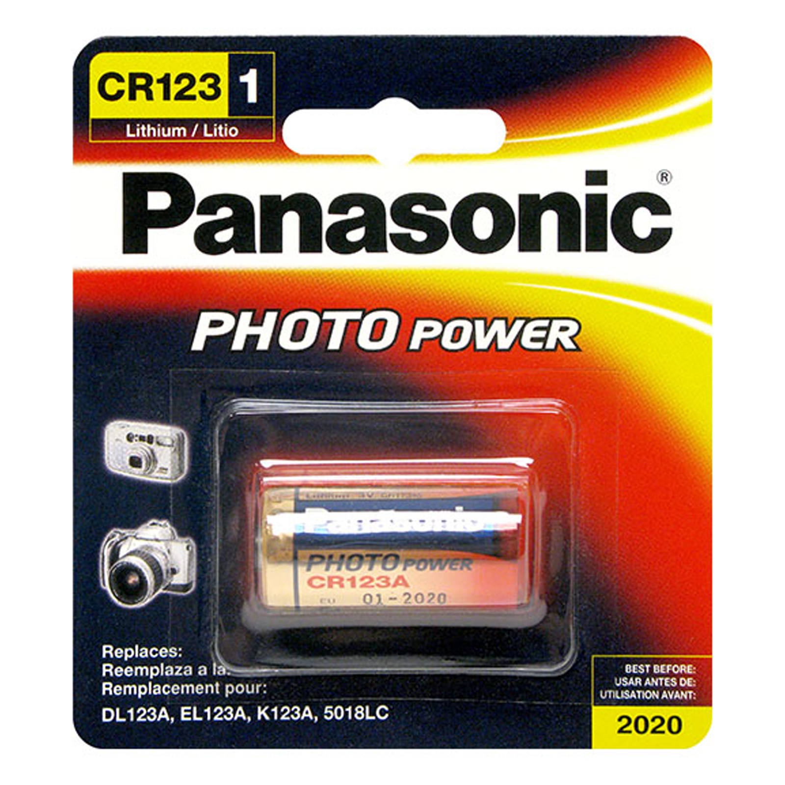 Panasonic 3v cr 123 23a photo lithium battery replace el123 k123a panasonic 3v cr 123 23a photo lithium battery replace el123 k123a fast usa ship fandeluxe Choice Image