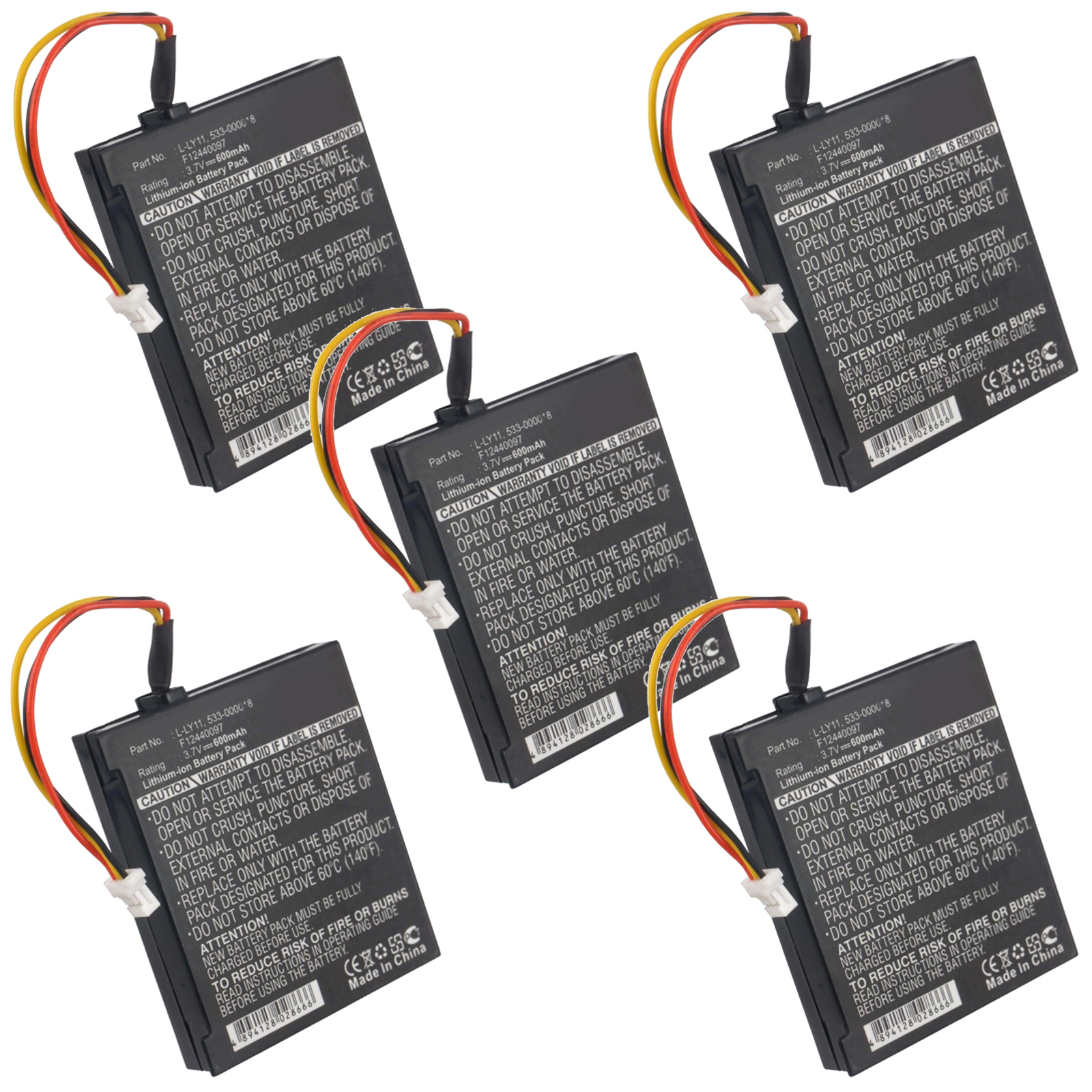 5pc Replacement Computer Mouse Battery For Logitech MX Revolution Mouse USA SHIP 819891014955   eBay