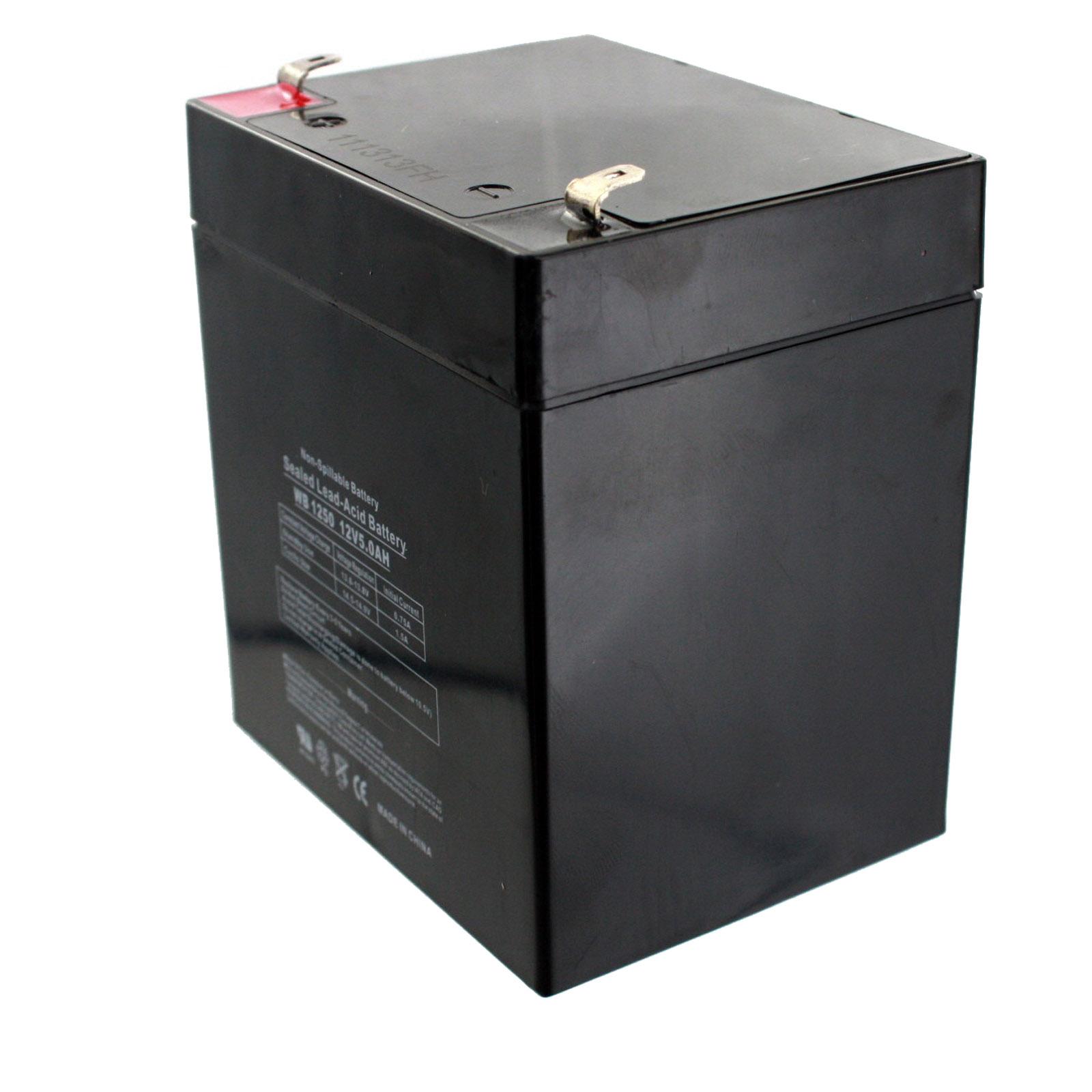 Exell Battery Repl Ritar Rt Series Rt 1250 F1 12v 5ah