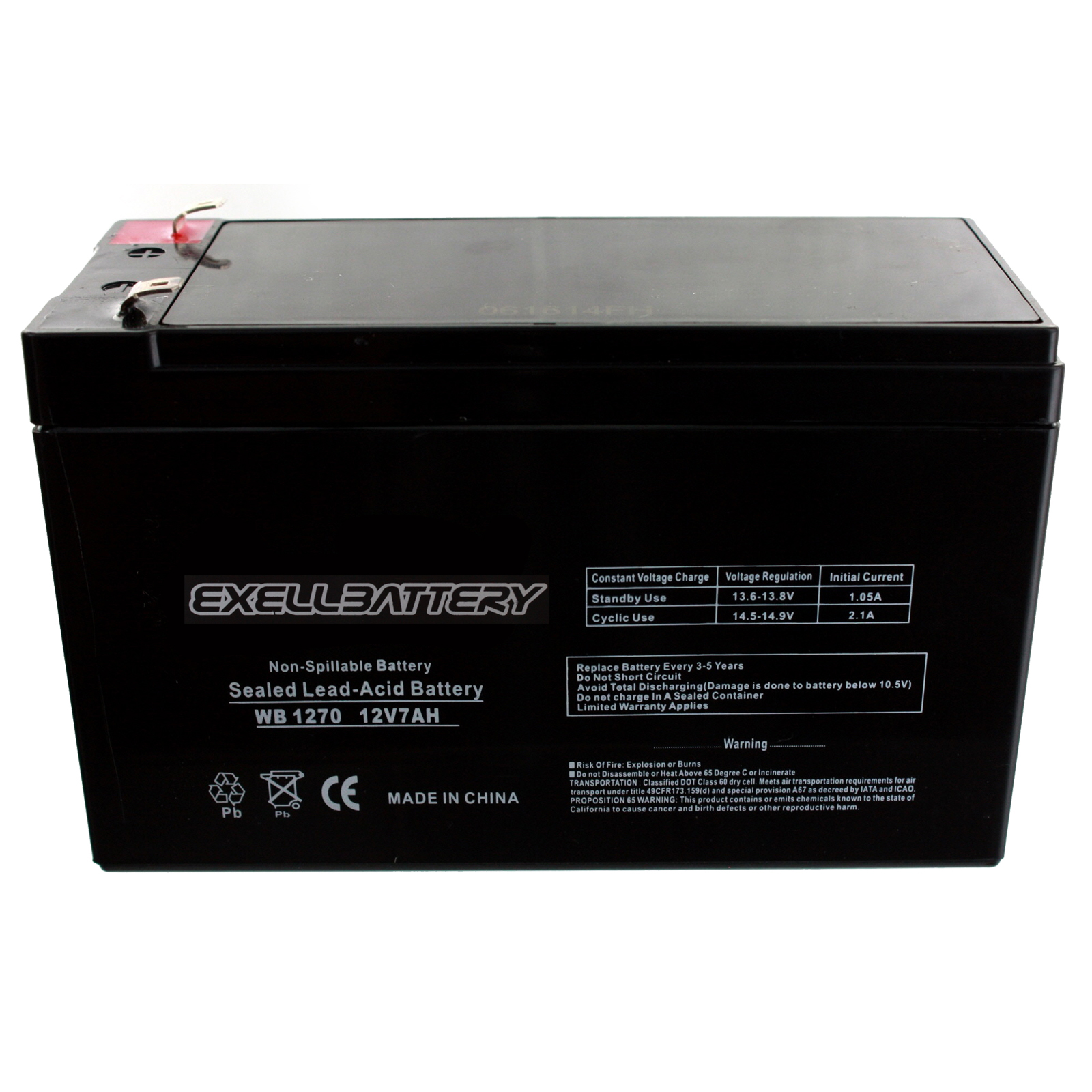 6 Pack Brand Product Mighty Max Battery 12V 7.2AH SLA Battery for Eaton//POWERWARE 3115-420 UPS