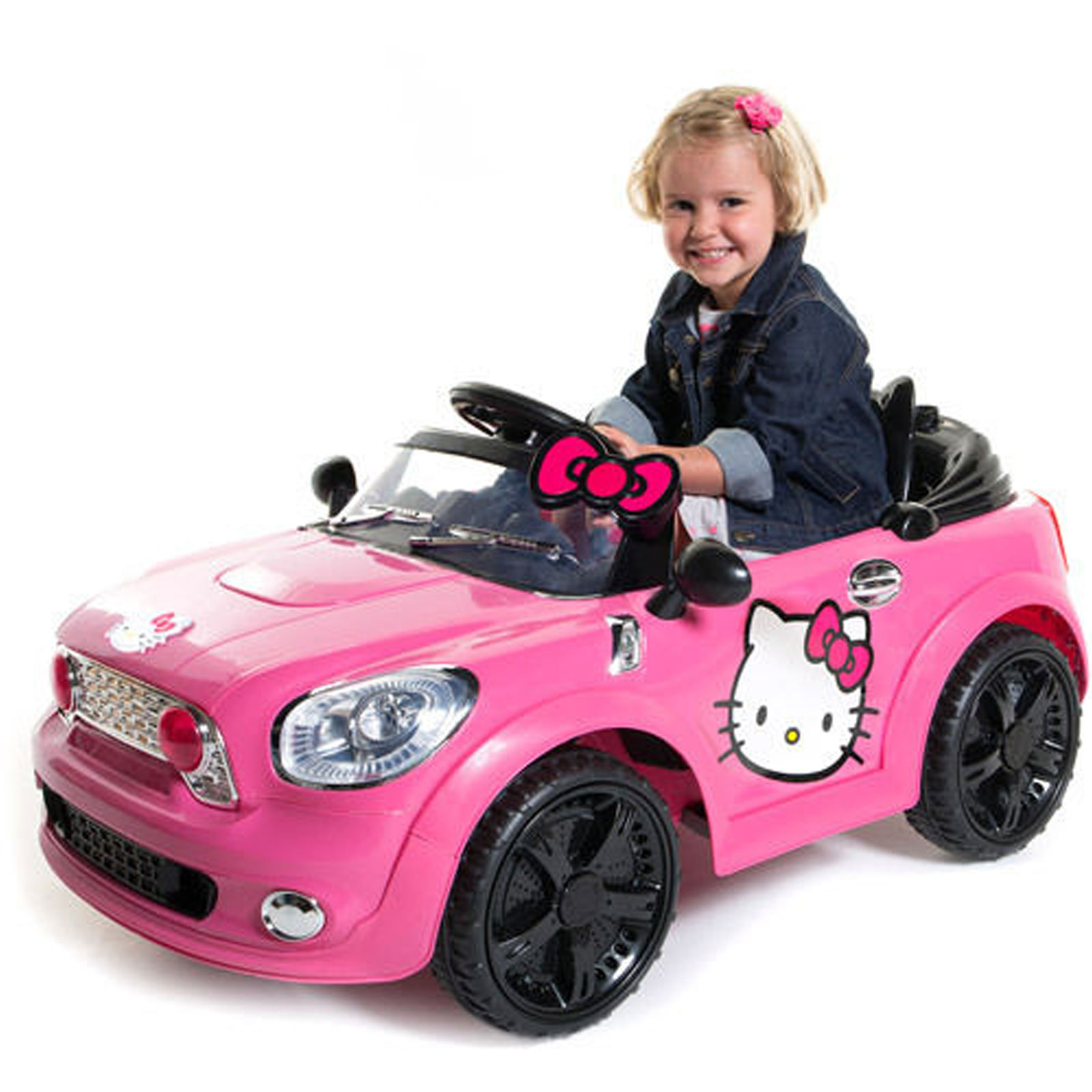 Hello Kitty Toy Car For Girls : Replacement v battery for hello kitty kids ride on toy