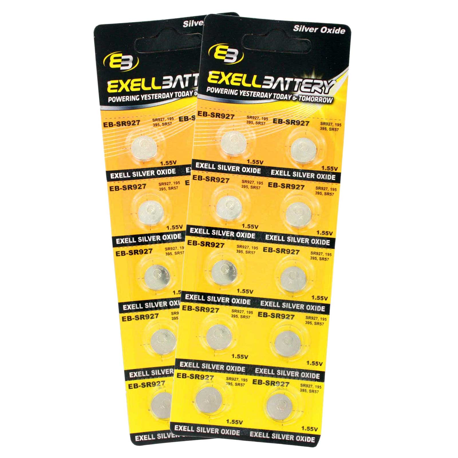2pc 10pk exell eb sr927 silver oxide 15v watch battery replaces 395 2pc 10pk exell eb sr927 silver oxide 15v watch battery replaces 395399 fandeluxe Gallery