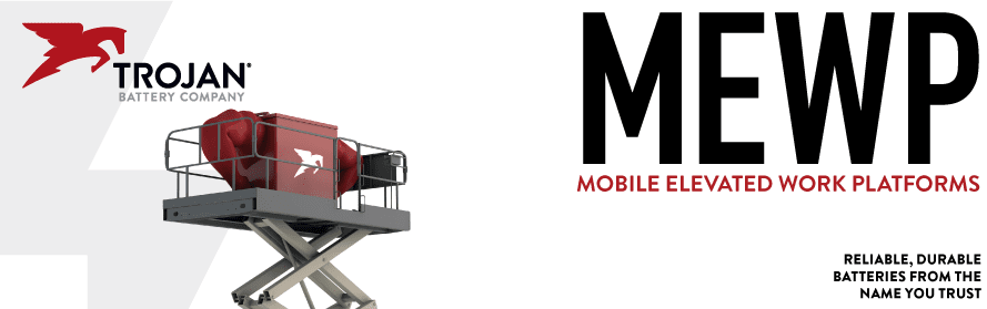Trojan Aerial Work Platform, Access Batteries & Mobile Elevated Work Platforms (MEWP) for the heaviest lifting