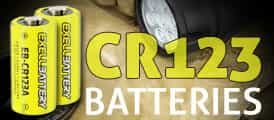 CR123 Excell Batteries