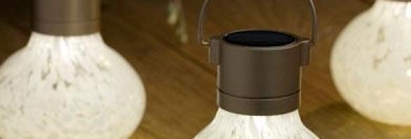 Allsop Home Garden Solar Tea Lamps